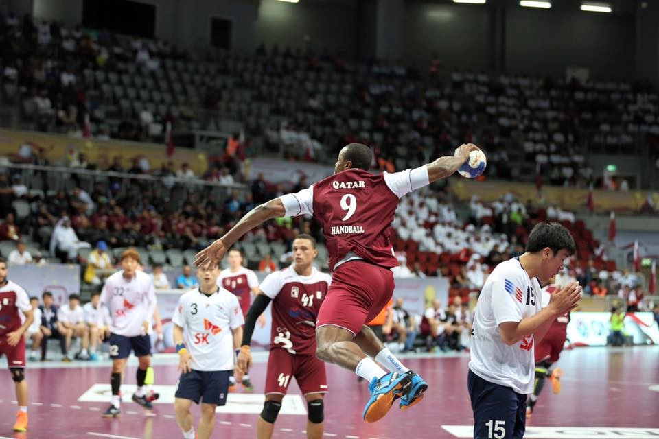 Qatar had beaten South Korea in the semi-final on their way to qualifying for Rio 2016 ©QOC