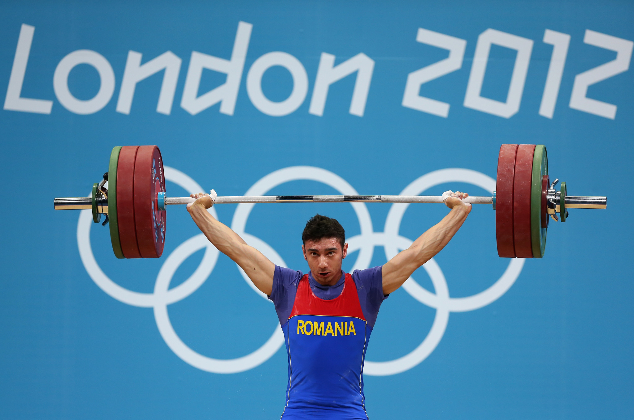 Razvan Martin was one of four Romanian weightlifters - the entire team - caught doping at London 2012 following IOC re-tests ©Getty Images