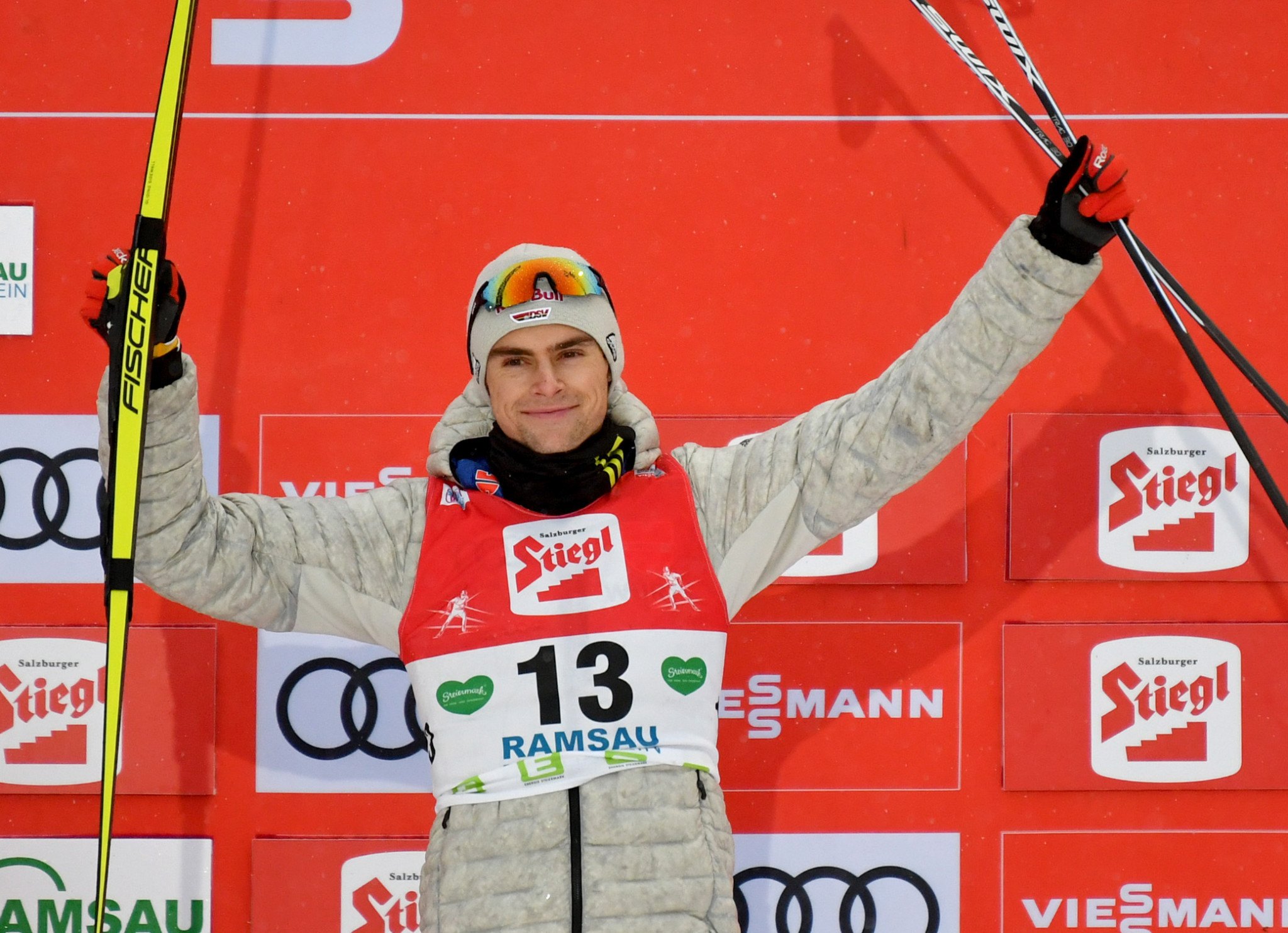 Geiger surpasses Riiber at FIS Nordic Combined World Cup in Val di Fiemme