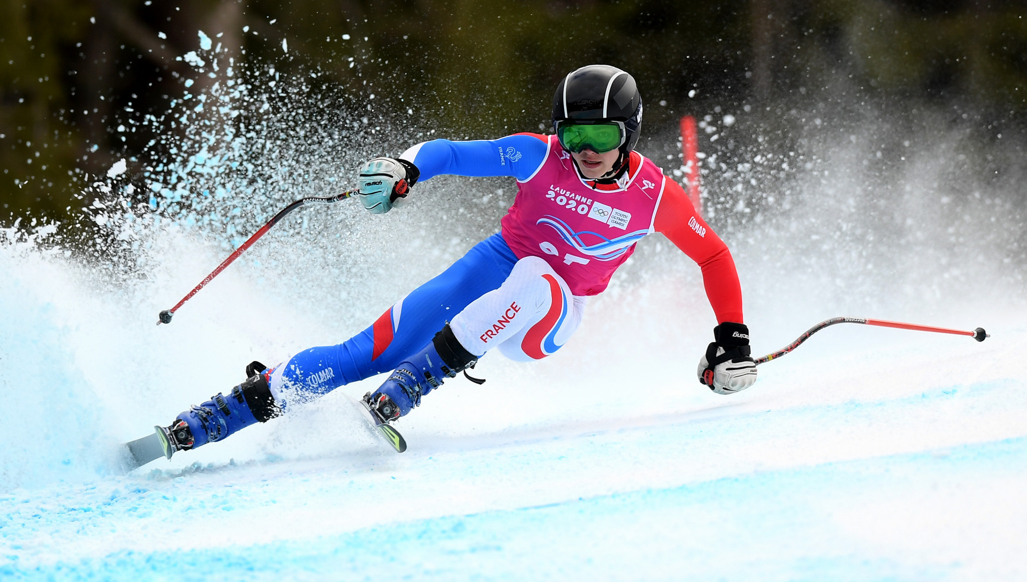 Shared gold and family traditions continued in Lausanne 2020 Alpine combined