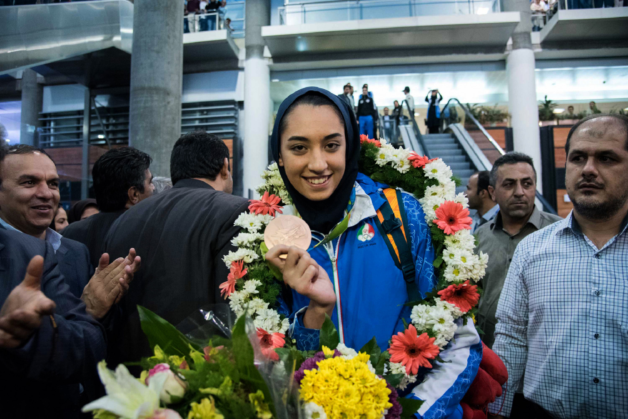 Kimia Alizadeh's history-making achievement resulted in much publicity ©Getty Images