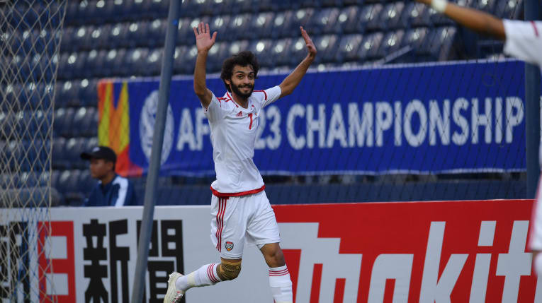 UAE defeat North Korea to go top of group at AFC Under-23 Championship