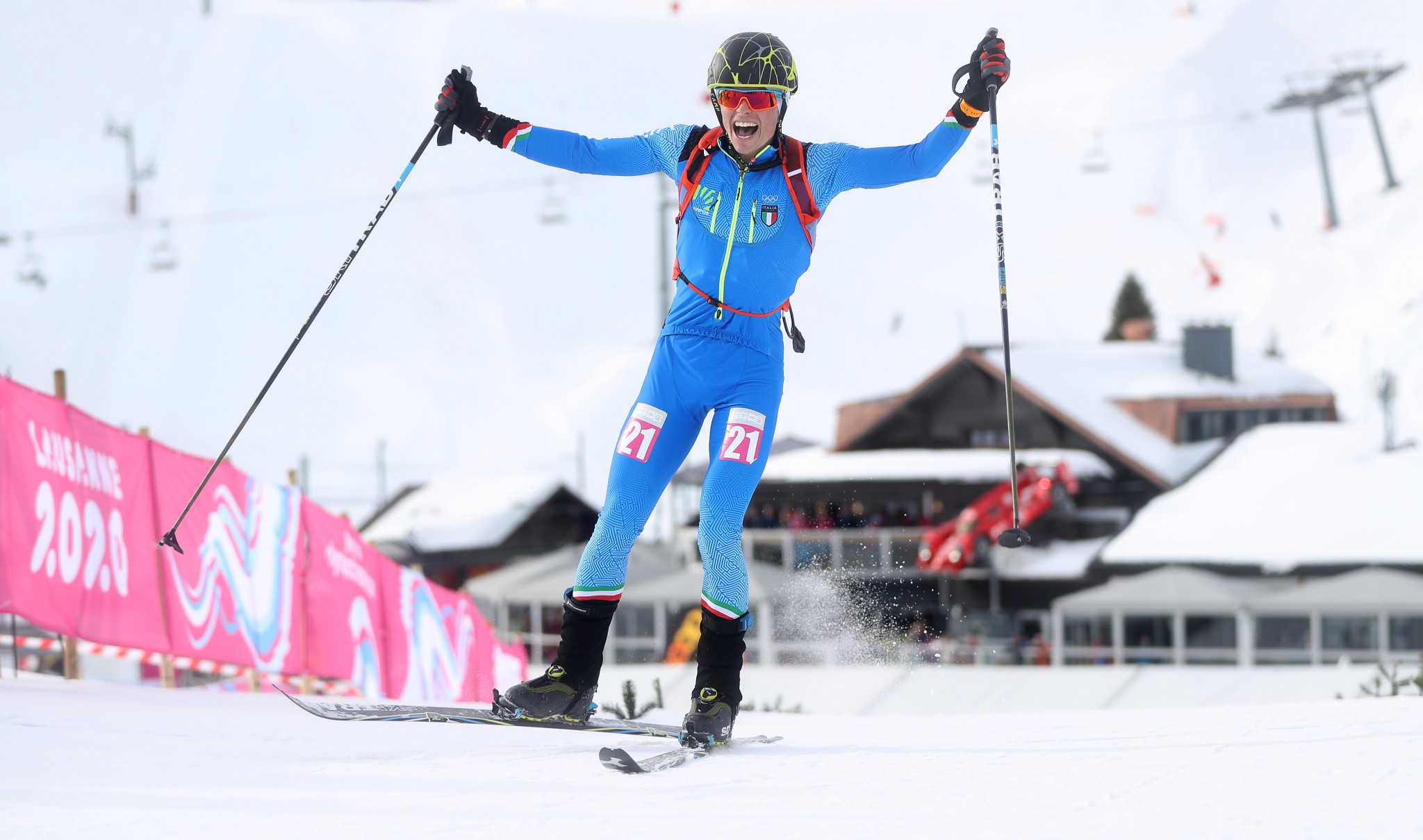 Italian wants Winter Olympic Games inclusion after claiming ski mountaineering gold at Lausanne 2020