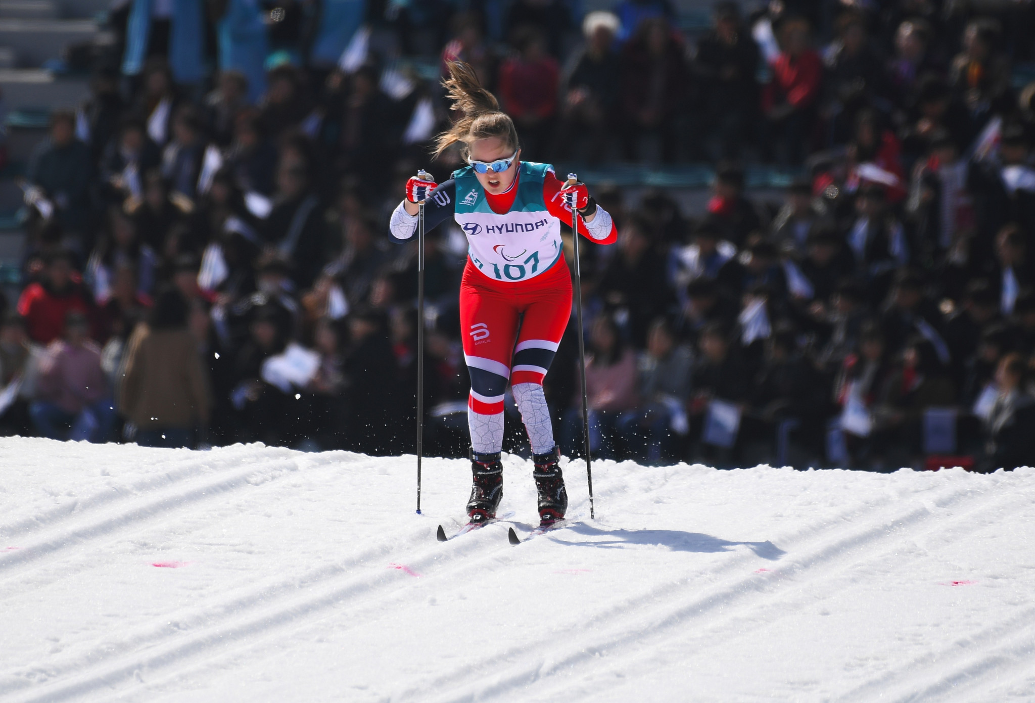 Norwegian cross-country skier Vilde Nilsen is also in contention for the award ©Getty Images