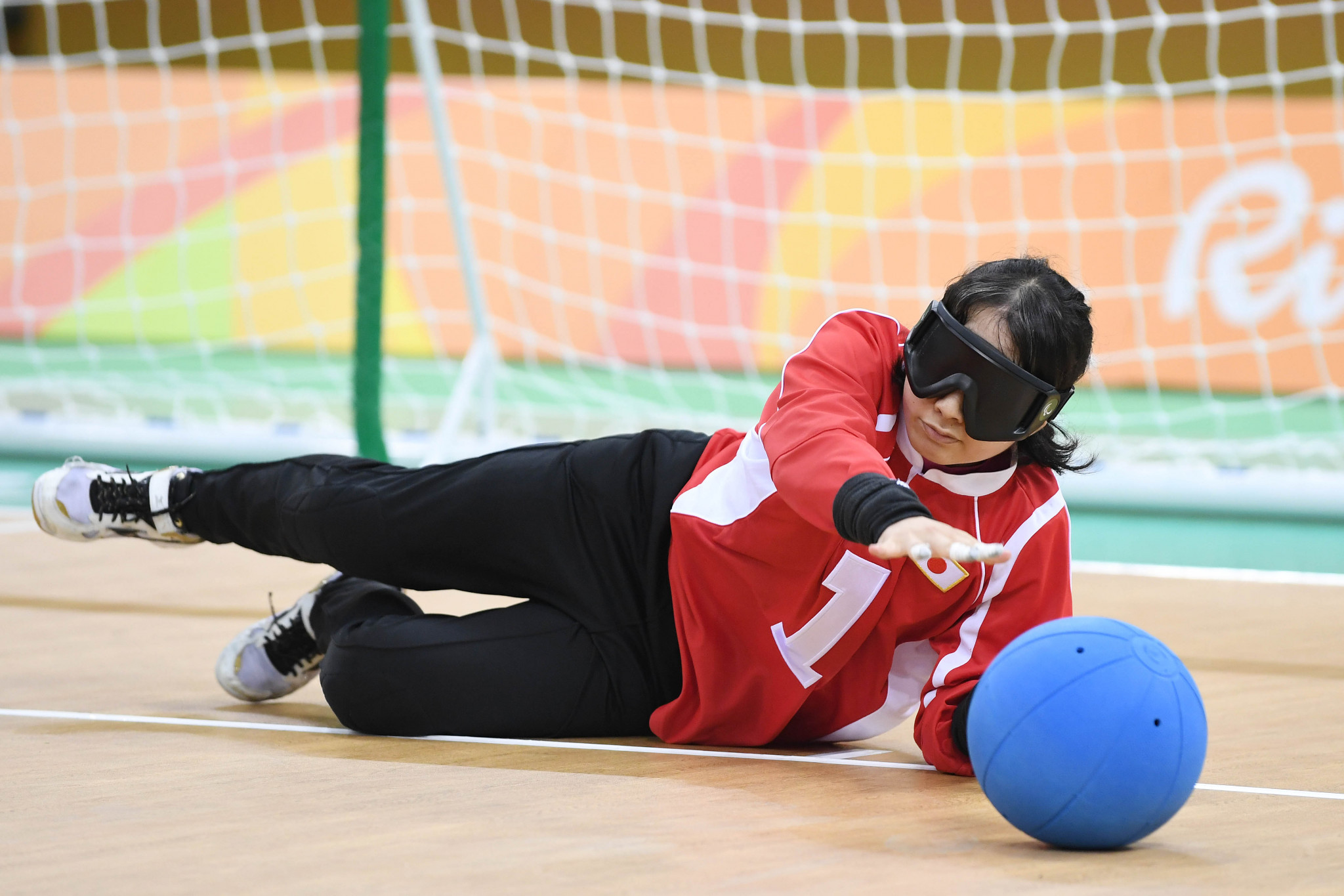 Japan's Haruka Wakasugi is one of two goalballers to have been nominated for the IPC Athlete of the Month award for December 2019 ©Getty Images