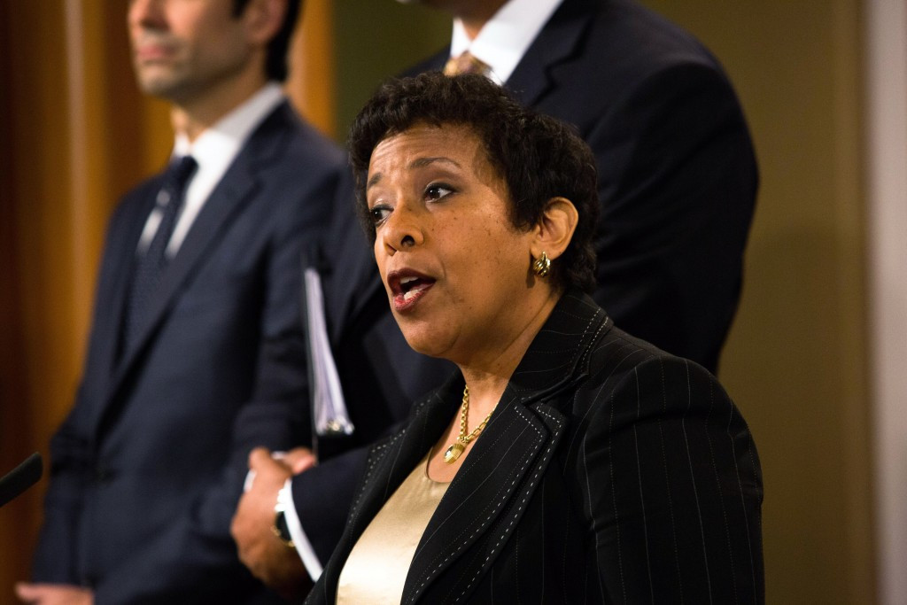 The indictments of 16 FIFA officials were confirmed by US Department of Justice Attorney General Loretta Lynch ©Getty Images