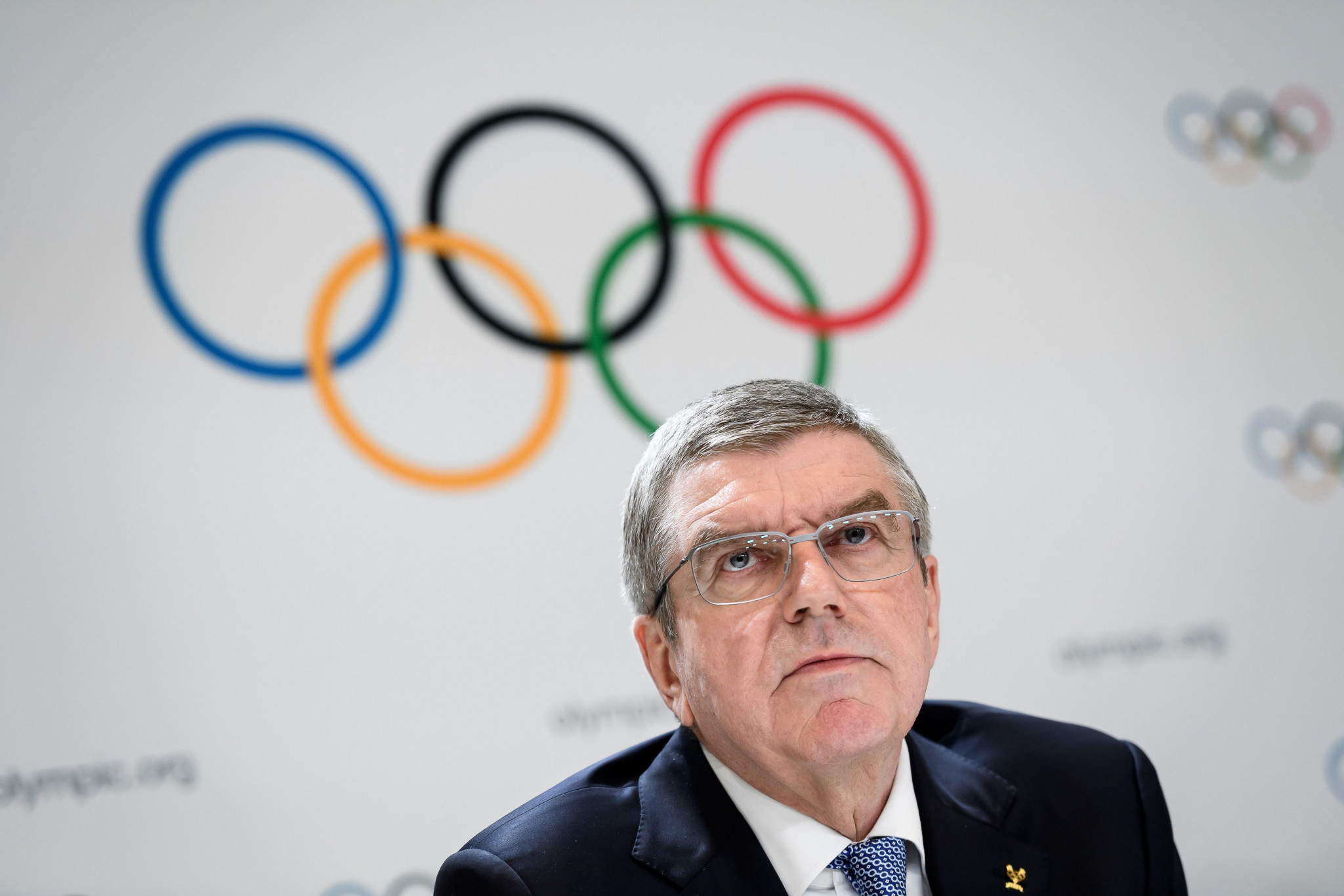 IOC President Thomas Bach said the organisation had received a letter from Iran ©Getty Images