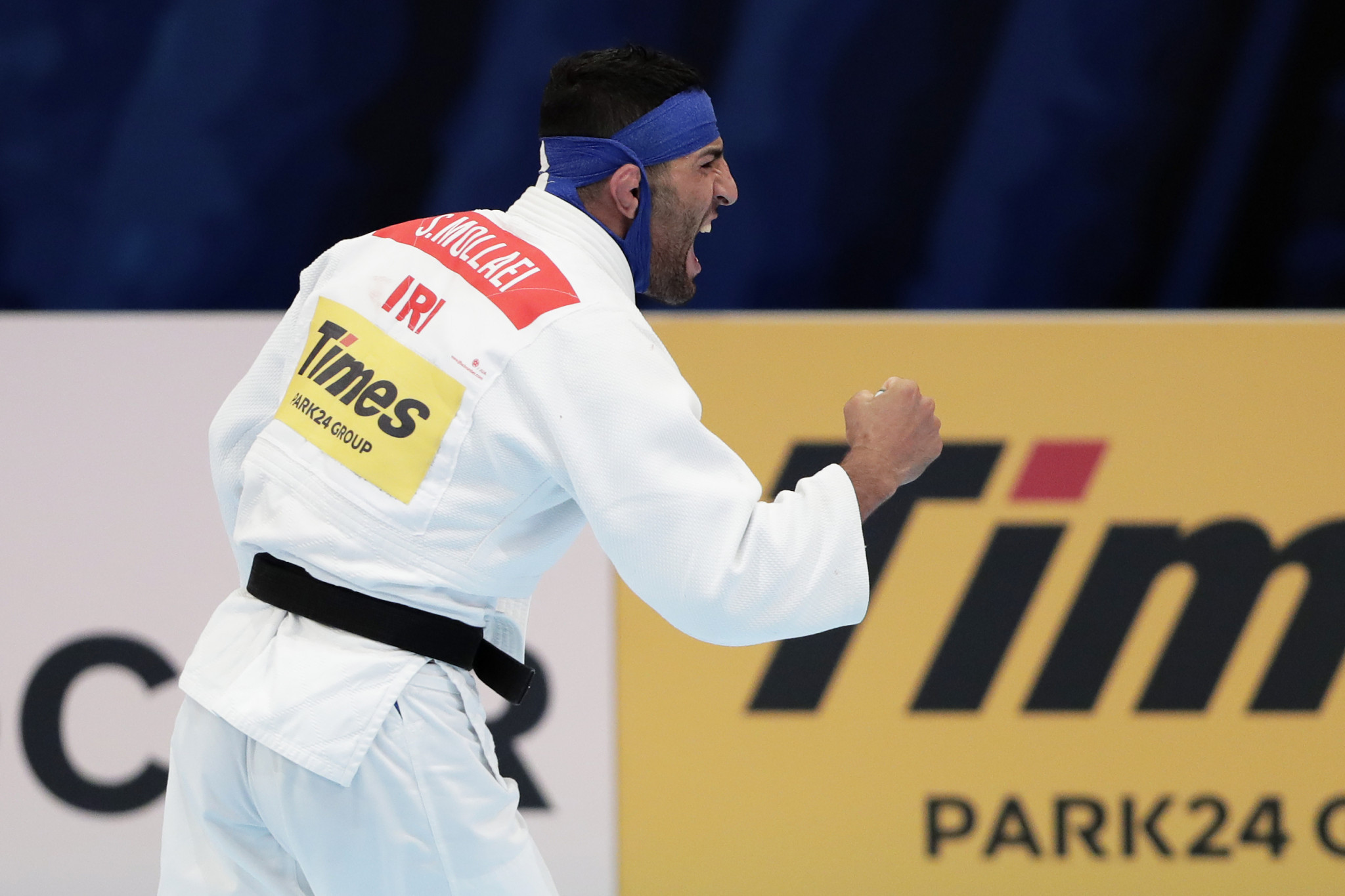 Saeid Mollaei was ordered to withdraw from the Judo World Championships in August to avoid facing an Israeli ©Getty Images