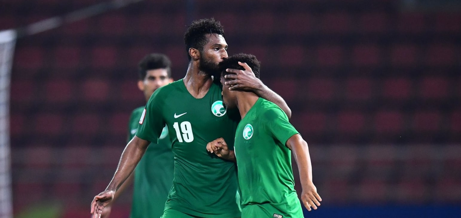 Saudi Arabia topped Group B after beating Syria ©AFC