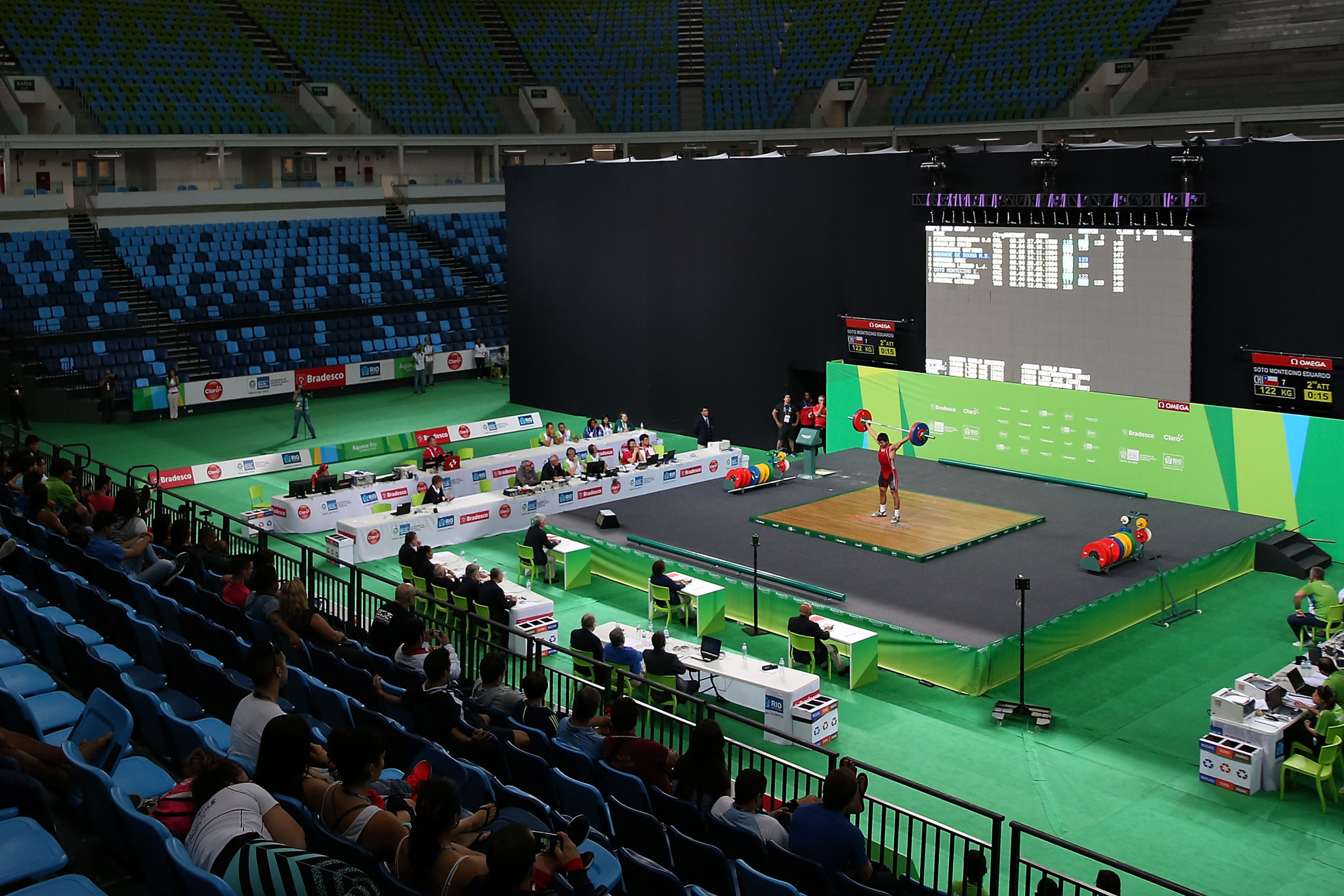 An extraordinary meeting of the IWF Executive Board has been called in Doha next week amid troubling times ©Getty Images