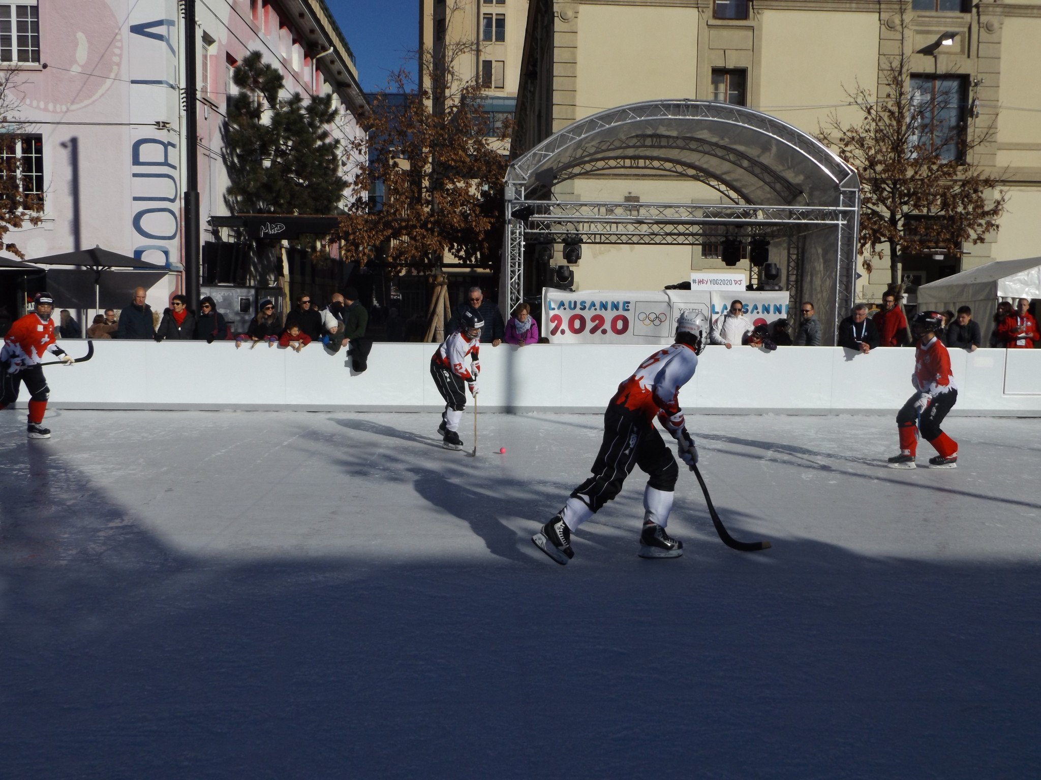Bandy is hoping for full Olympic inclusion at Milan-Cortina 2026 ©ITG
