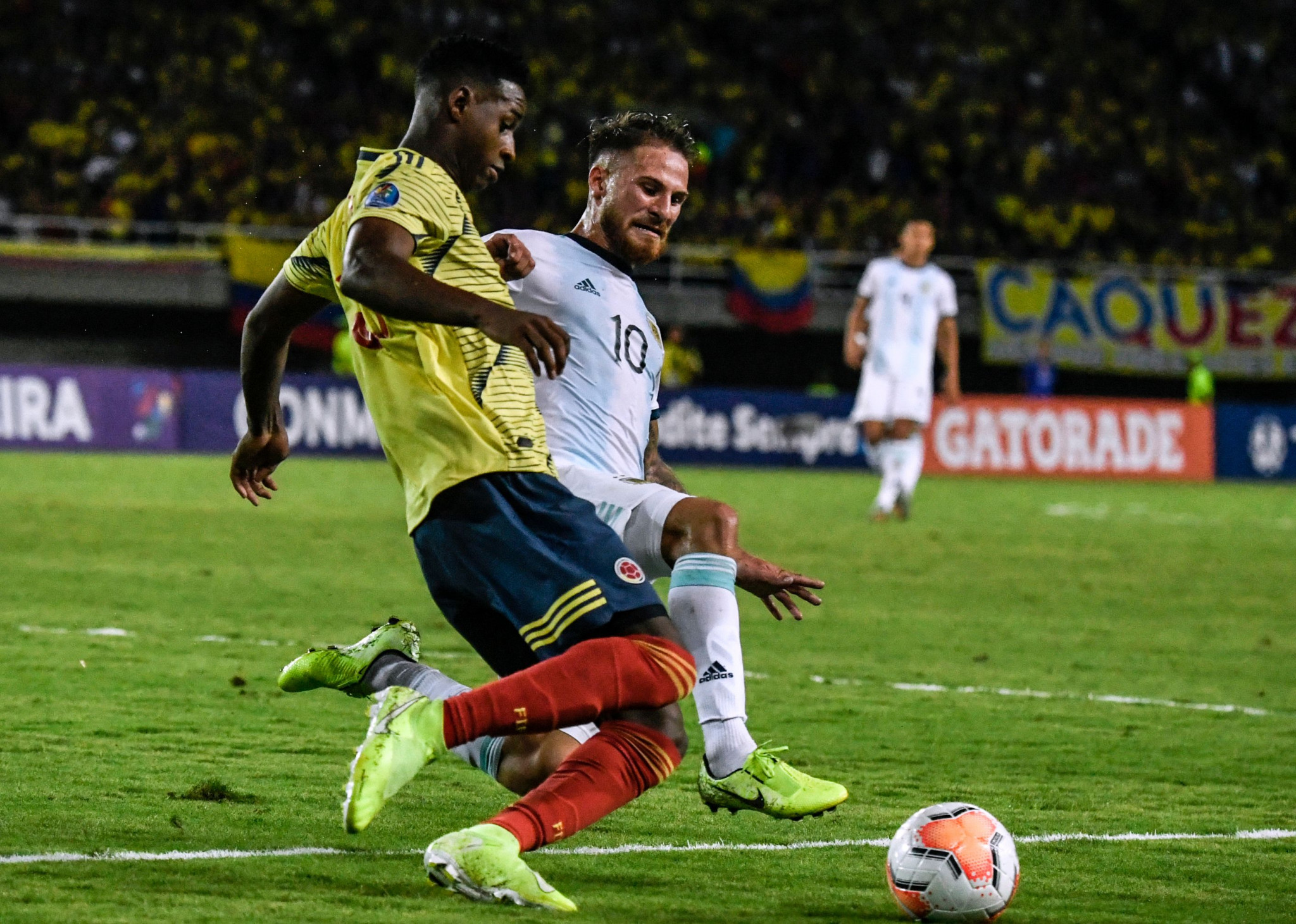 Argentina edge hosts Colombia as CONMEBOL Olympic qualifier begins