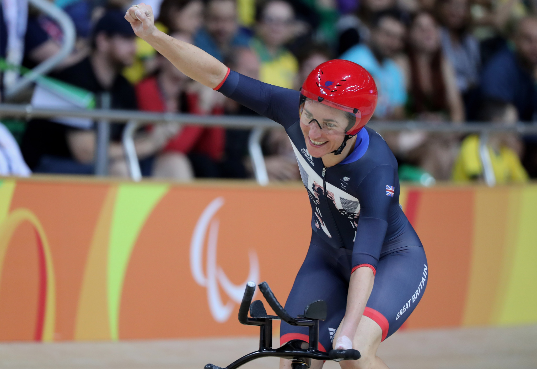 Dame Sarah Storey will compete for Britain at the 2020 UCI Para-cycling Track World Championships ©Getty Images