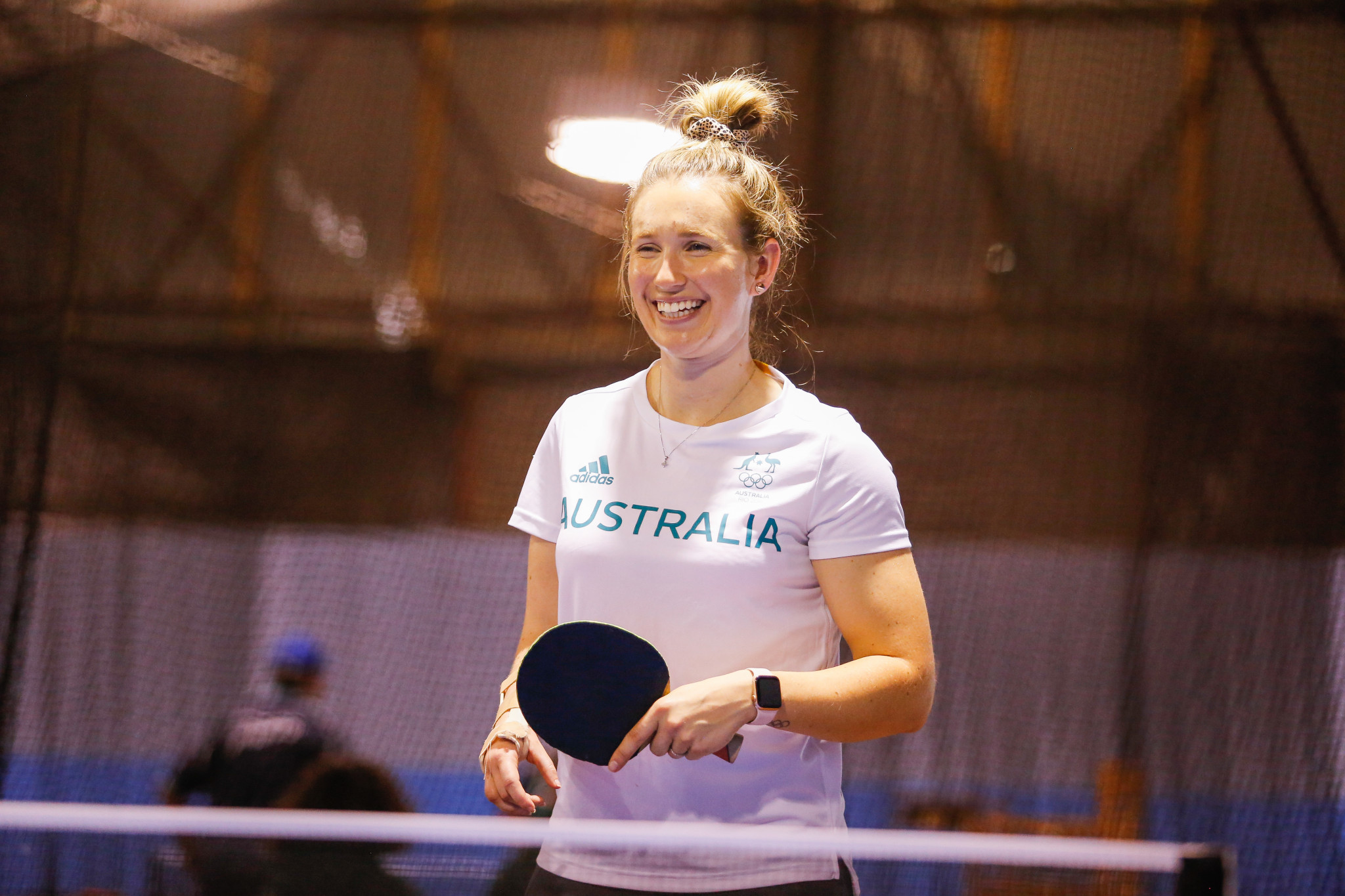 Melissa Tapper is one of Table Tennis Australia's two Para-captains ©Getty Images