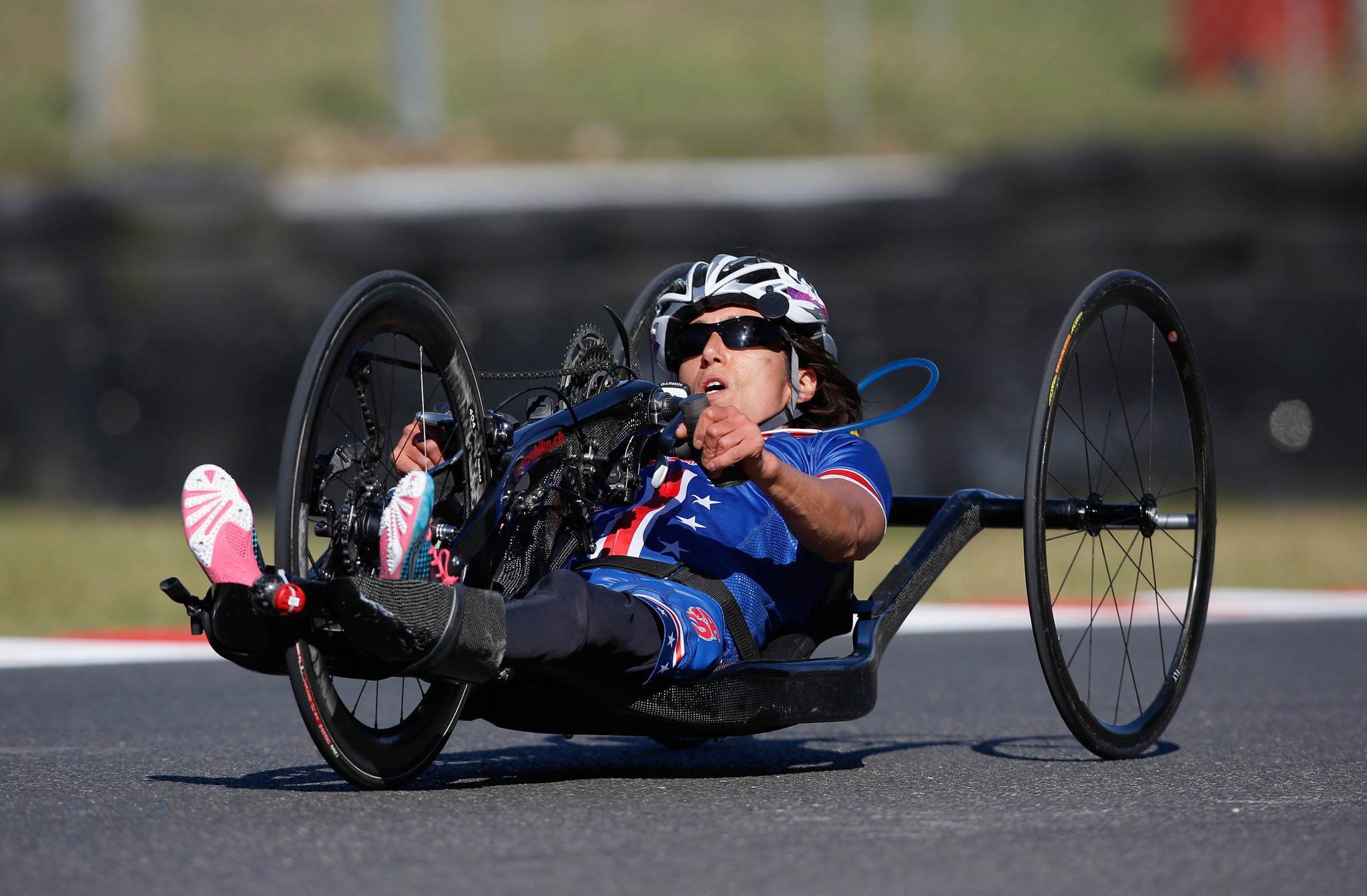 Women's road time trial world champion Alicia Dana was named on the US Paralympic Cycling team for 2020 ©Getty Images