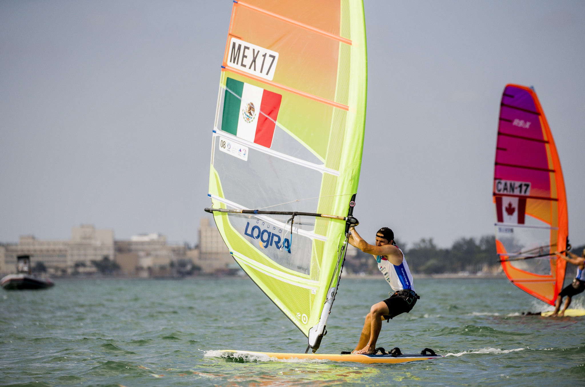North American sailors are bidding to qualify for Tokyo 2020 if their country has not already made it ©World Sailing