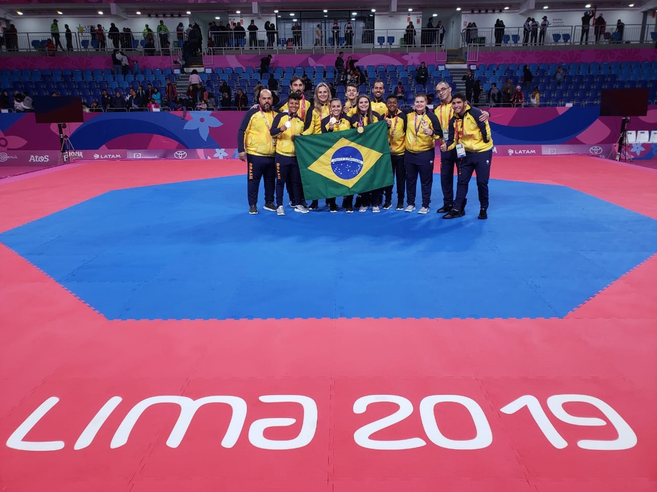 Brazil enjoyed a successful 2019 Parapan American Games taekwondo tournament in Lima with two gold medals  ©CBTKD
