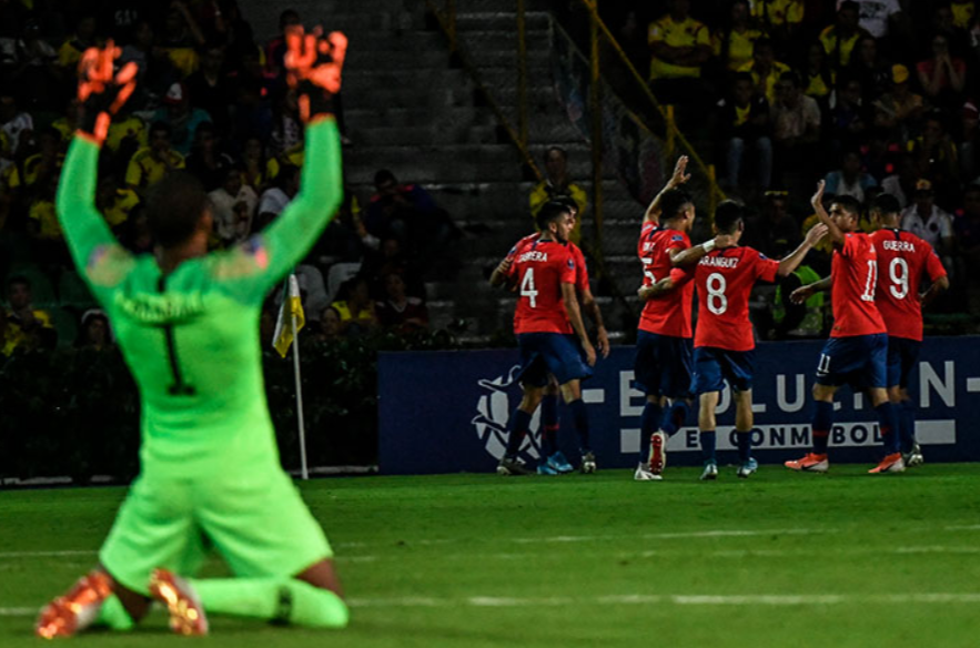 Chile leave it late against Venezuela at CONMEBOL Pre-Olympic Tournament