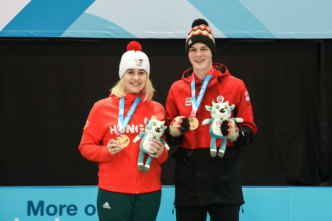 Nagy and Young win Lausanne 2020 mixed doubles curling competition