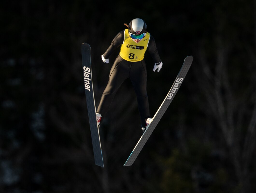 Norway made a strong start to the event in the ski jumping and built on their lead in cross-country skiing ©OIS