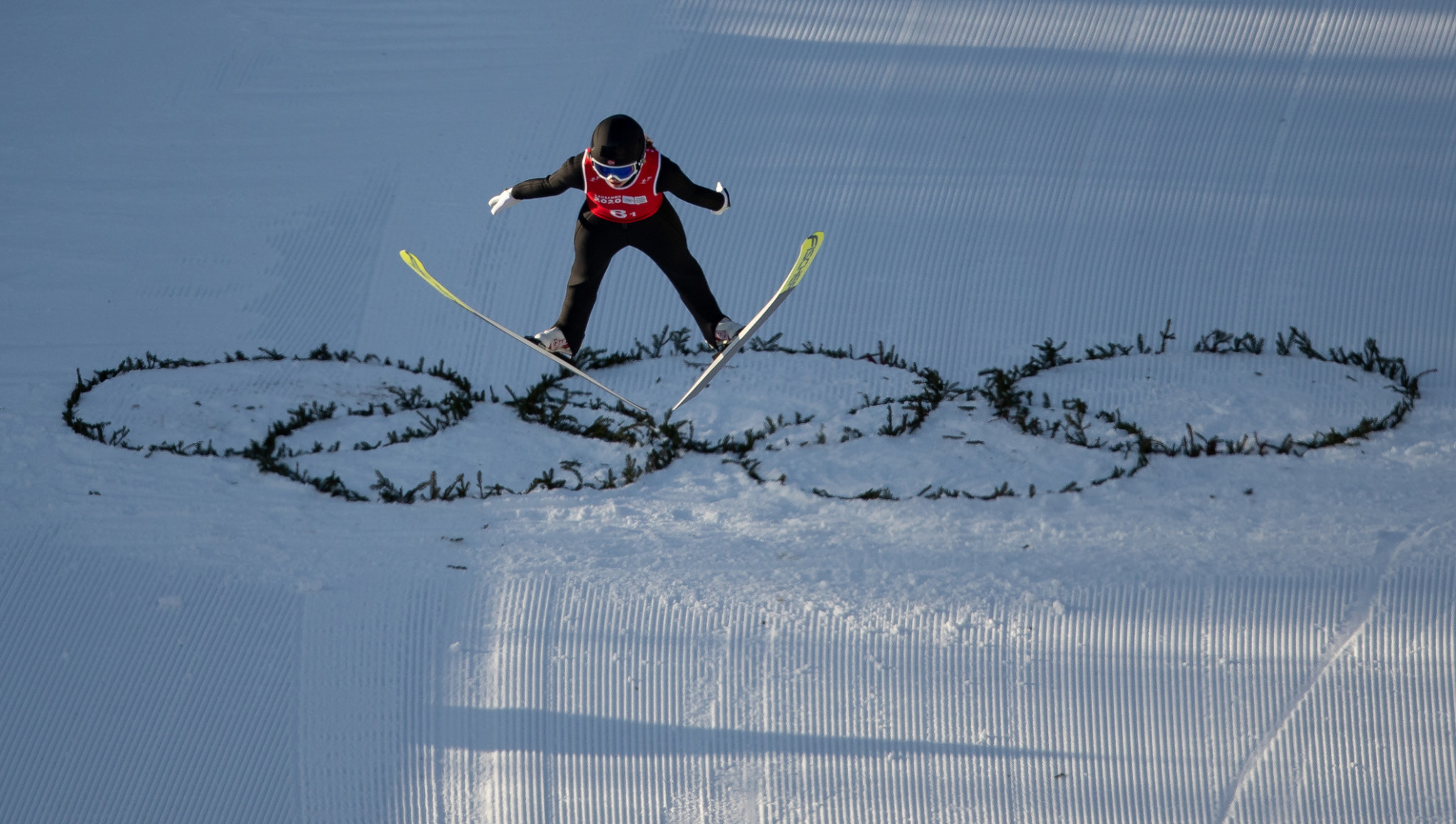Norway claimed the mixed team Nordic combined title ©OIS