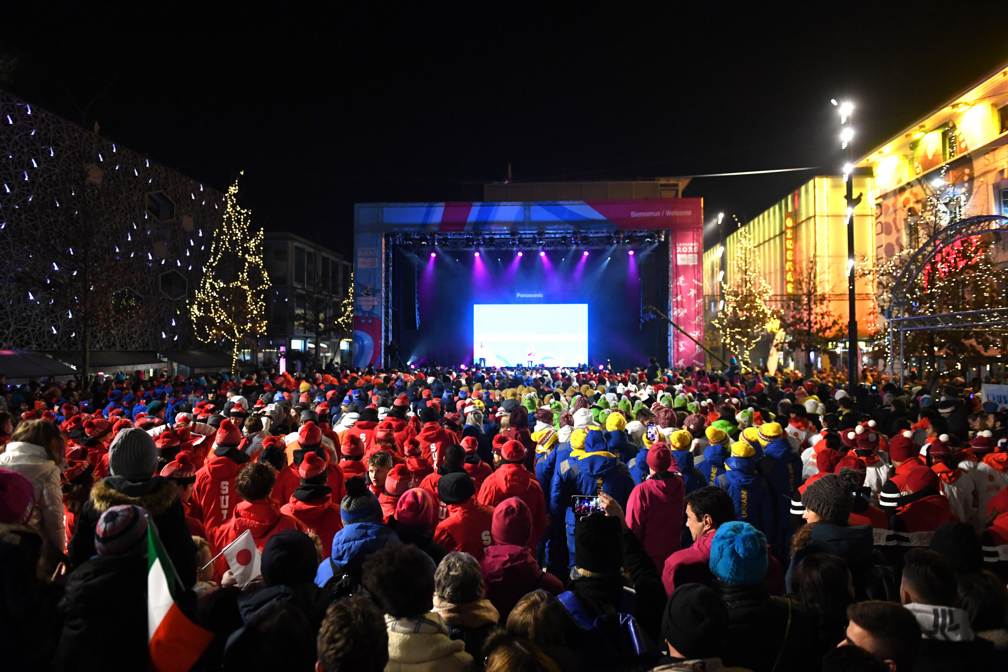 Lausanne 2020 welcomed over 1,700 athletes ©Getty Images