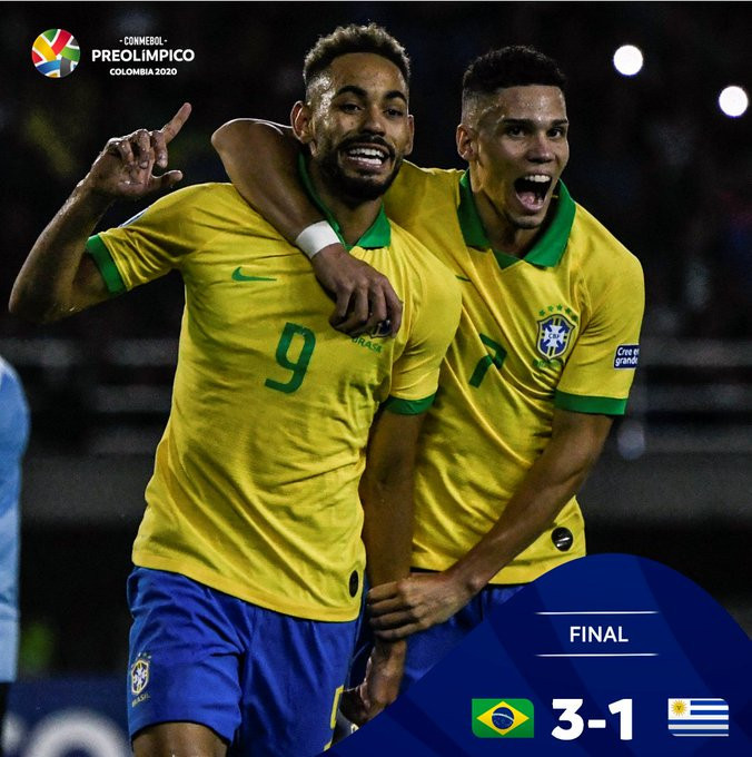 Brazil continued their Olympic title defence with a second victory ©CONMEBOL