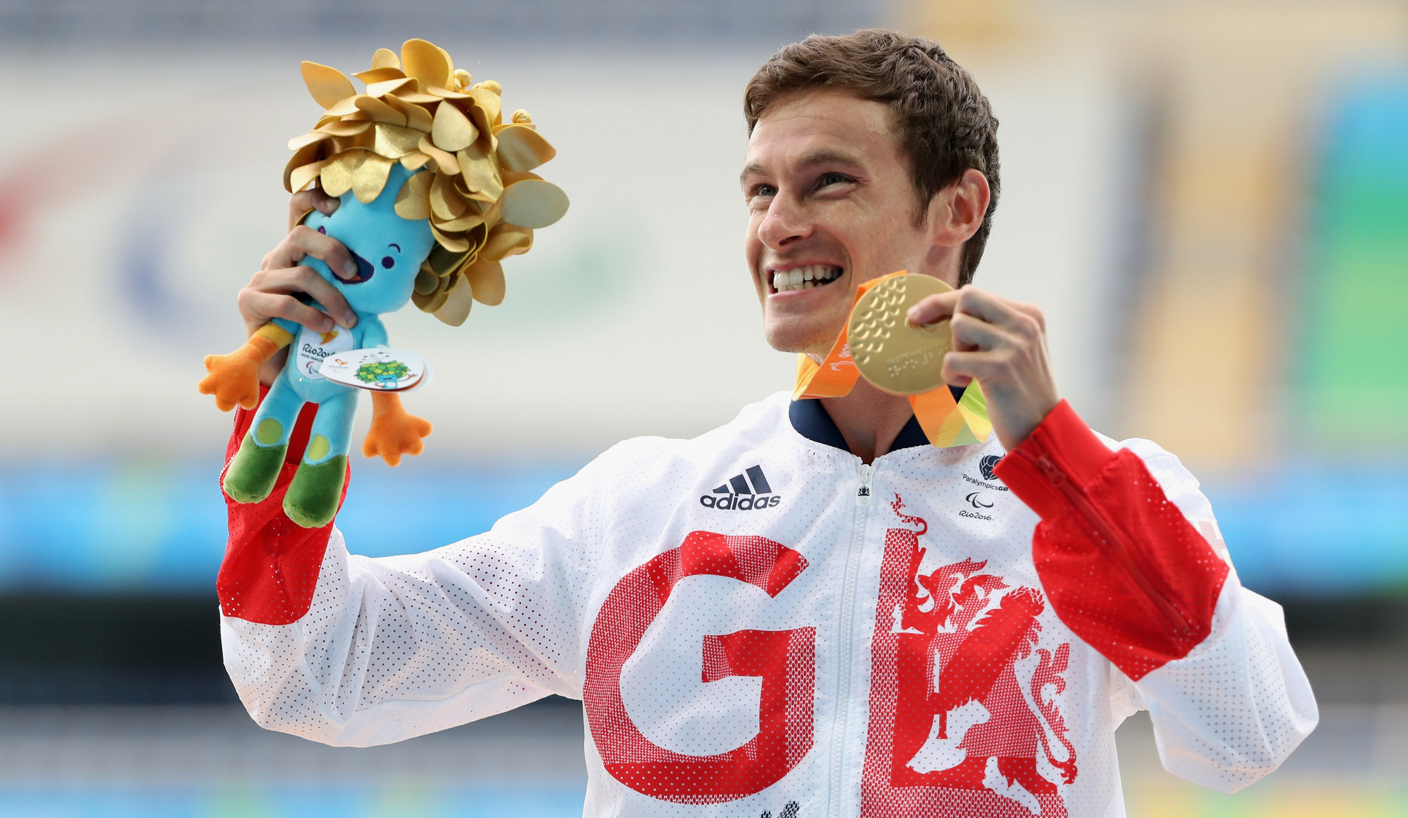 British Paralympic gold medallist announces retirement from athletics