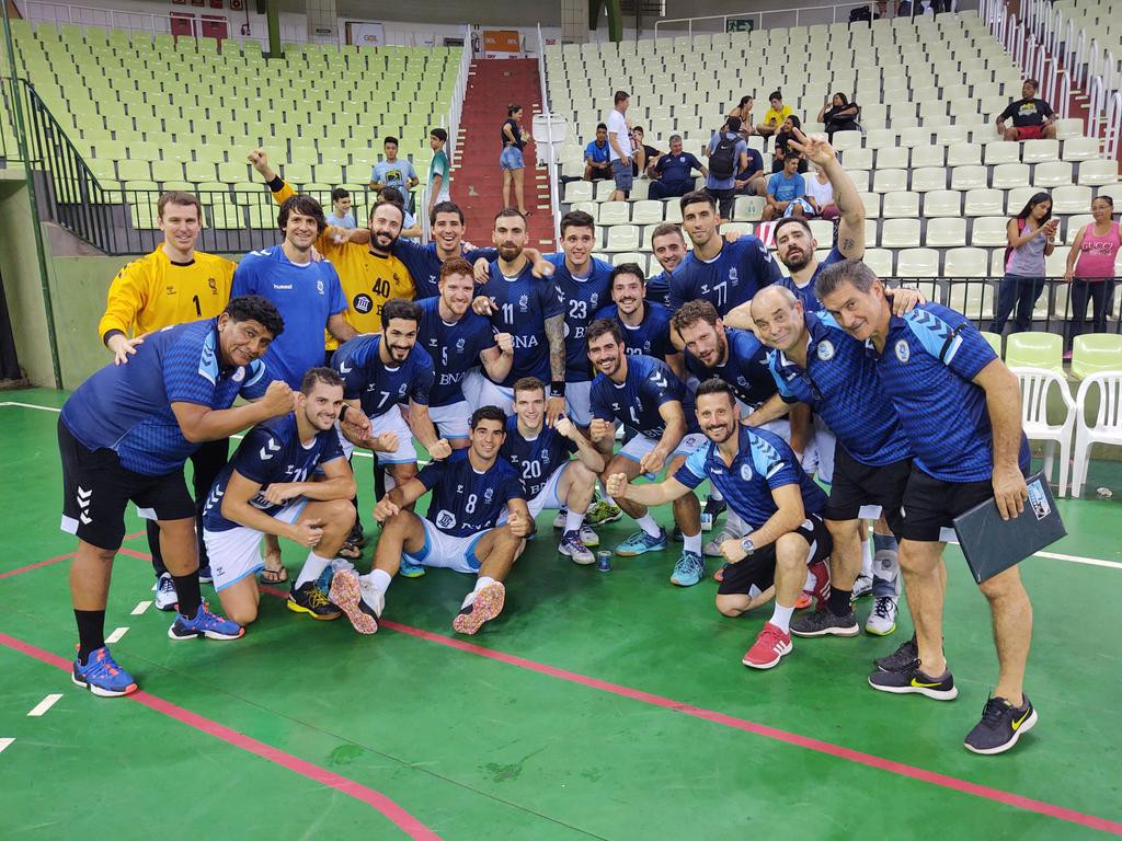 Argentina lead on penultimate day of South and Central American Men's Handball Championship