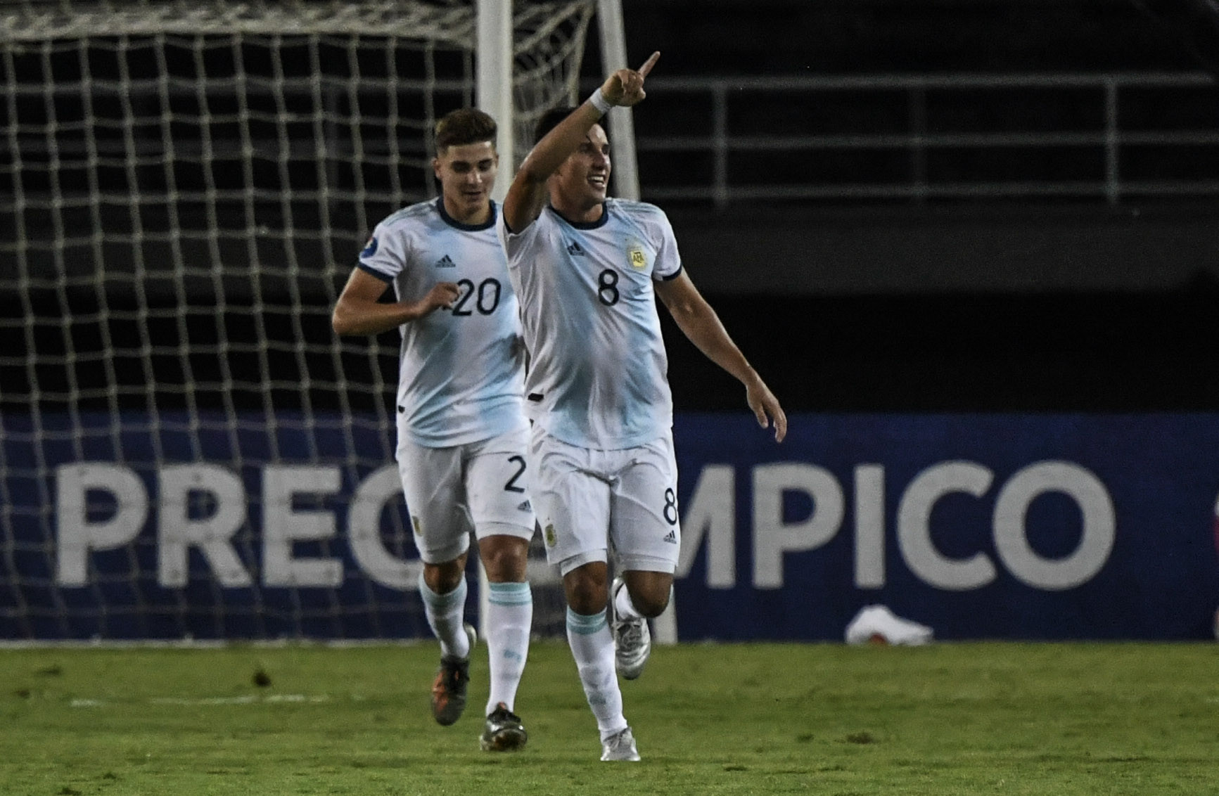 Argentina win top-of-the-table clash against Chile in Pre-Olympic Tournament