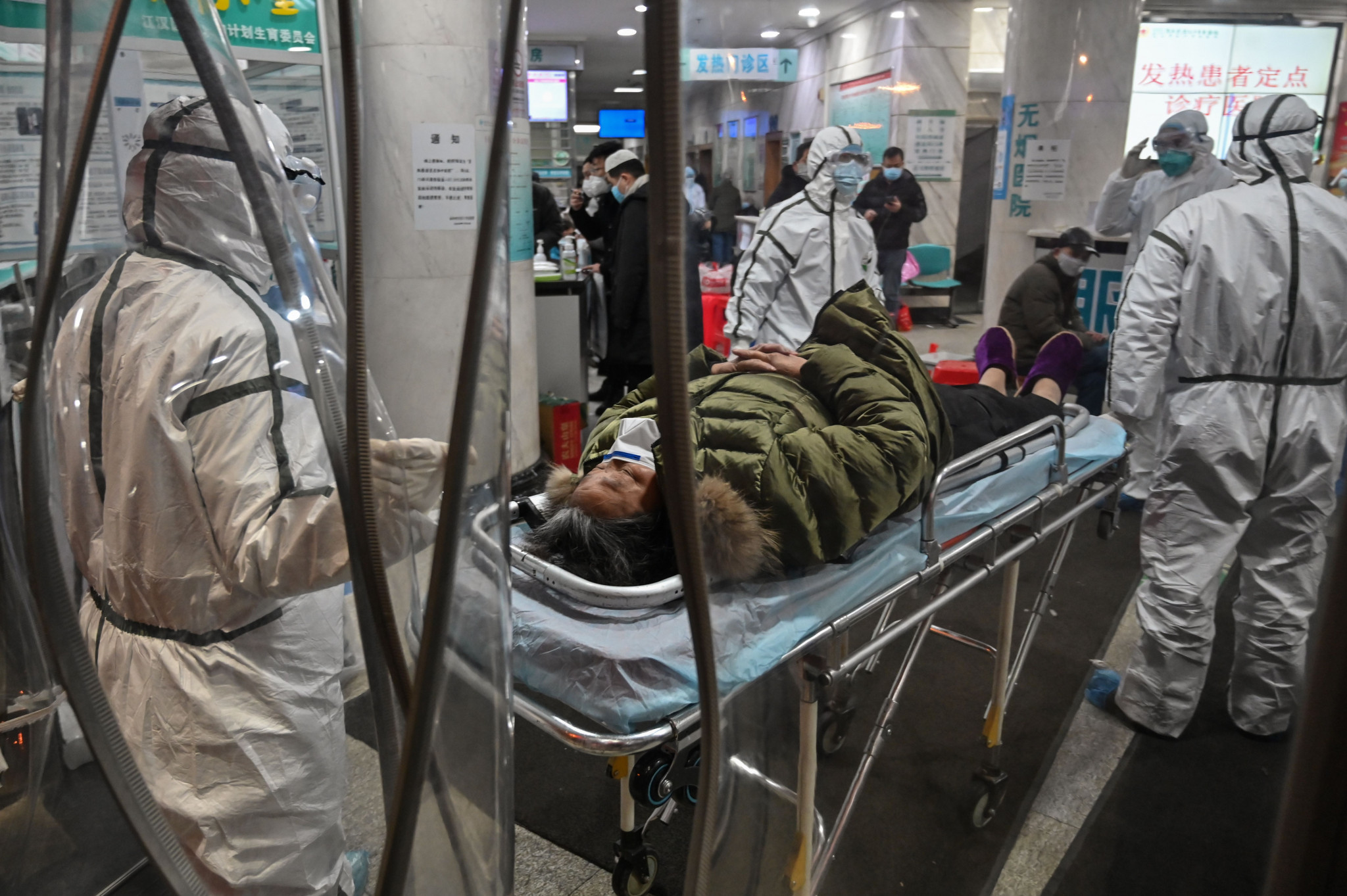 Two Olympic qualifying events have had to be moved from Wuhan, the centre of the coronavirus, which has so far killed 41 people and infected hundreds of people ©Getty Images