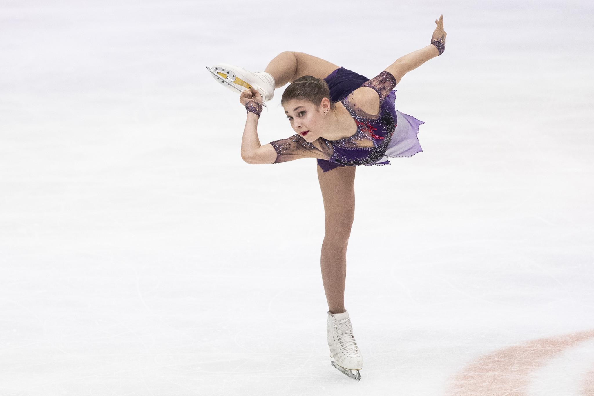 Kostornaia victory ensures Russian gold medal clean sweep at ISU European Figure Skating Championships