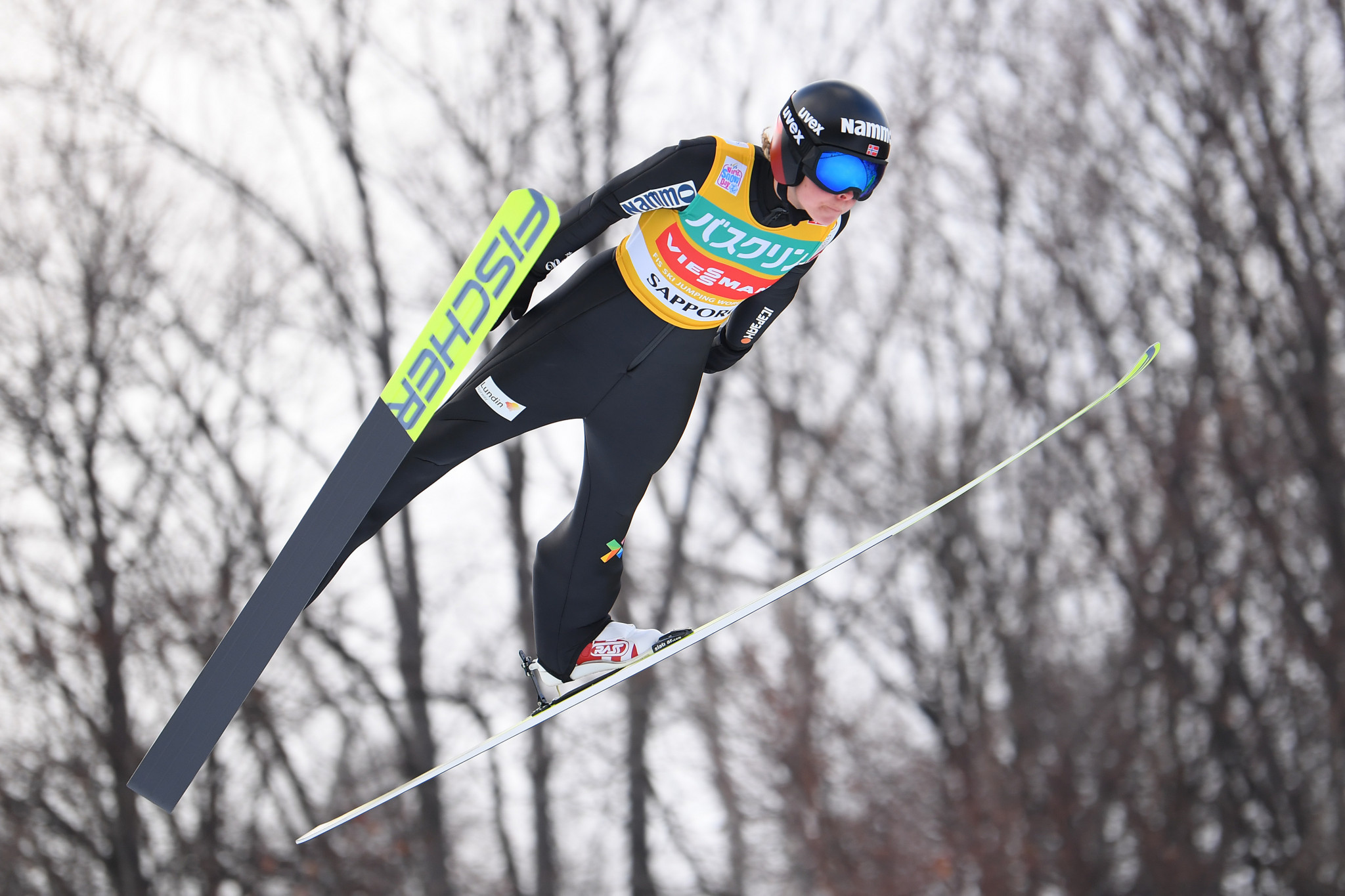 Lundby regains advantage in FIS Ski Jumping World Cup