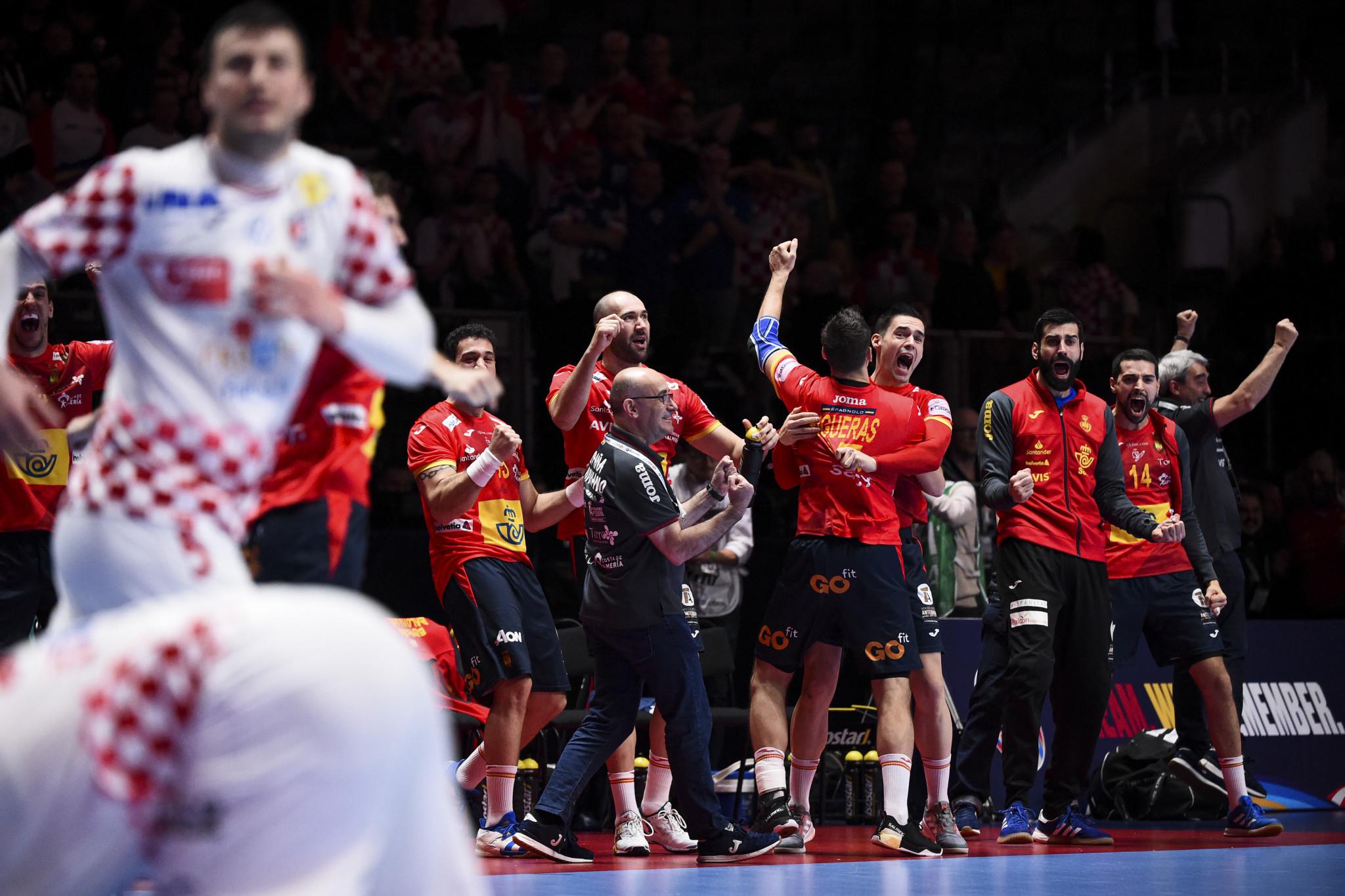 Spain retain European Men's Handball Championship after tight final versus Croatia