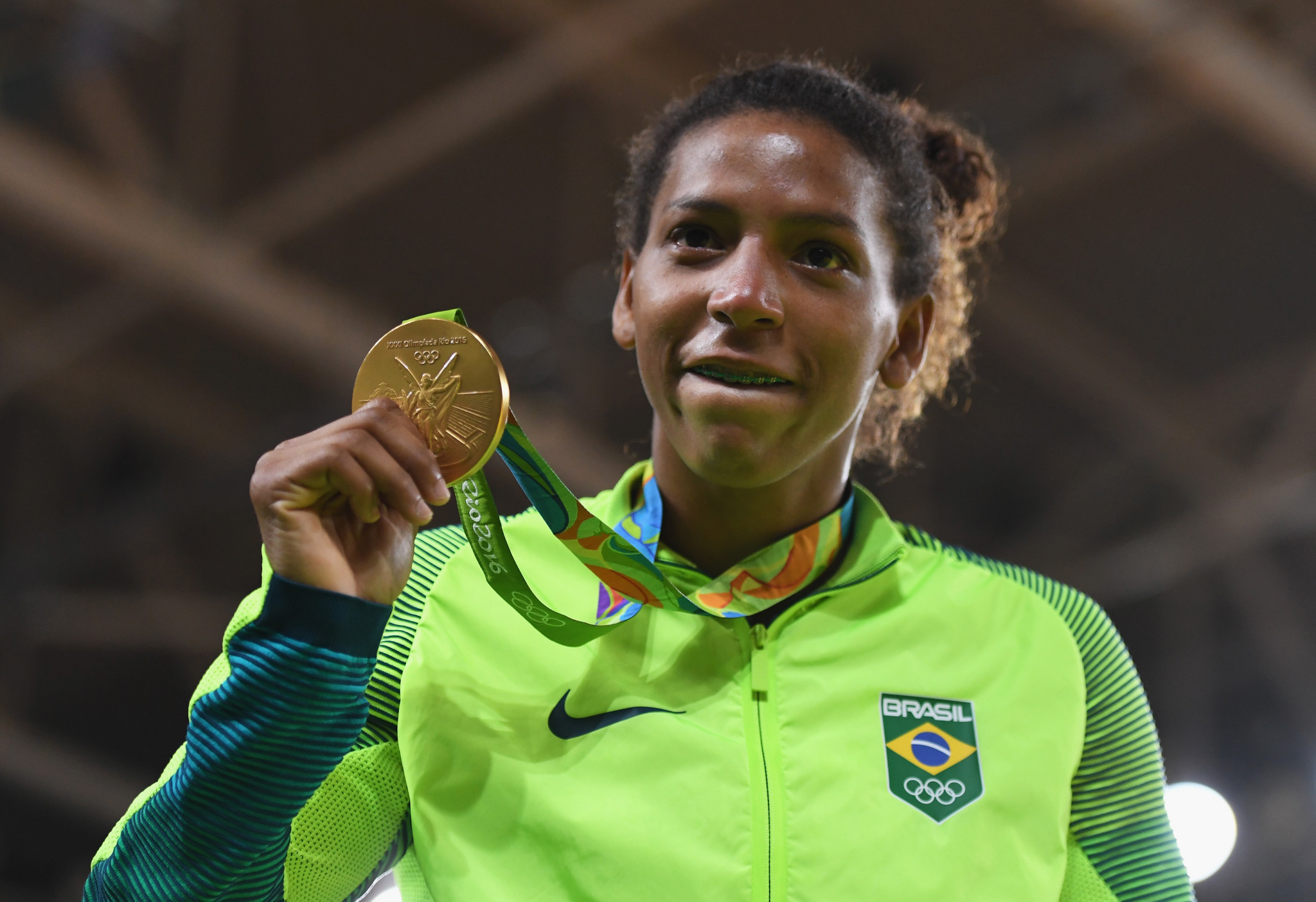 Rafaela Silva earned Brazil's first gold medal at the Rio 2016 Olympic Games ©Getty Images
