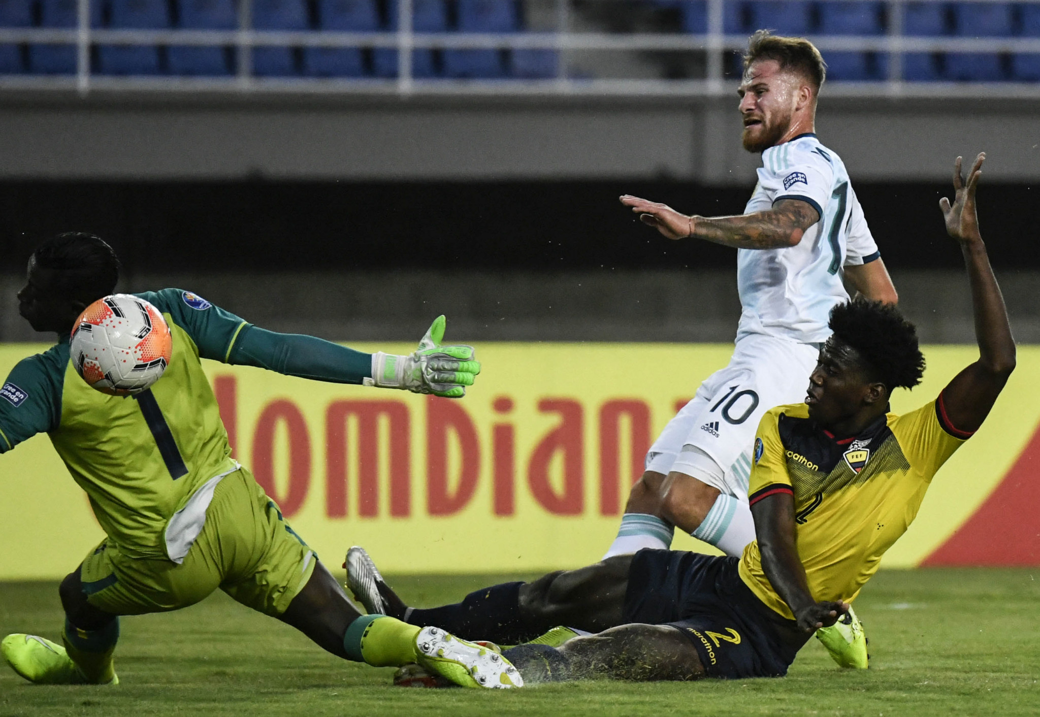 Argentina qualify for next stage of CONMEBOL Pre-Olympic Tournament