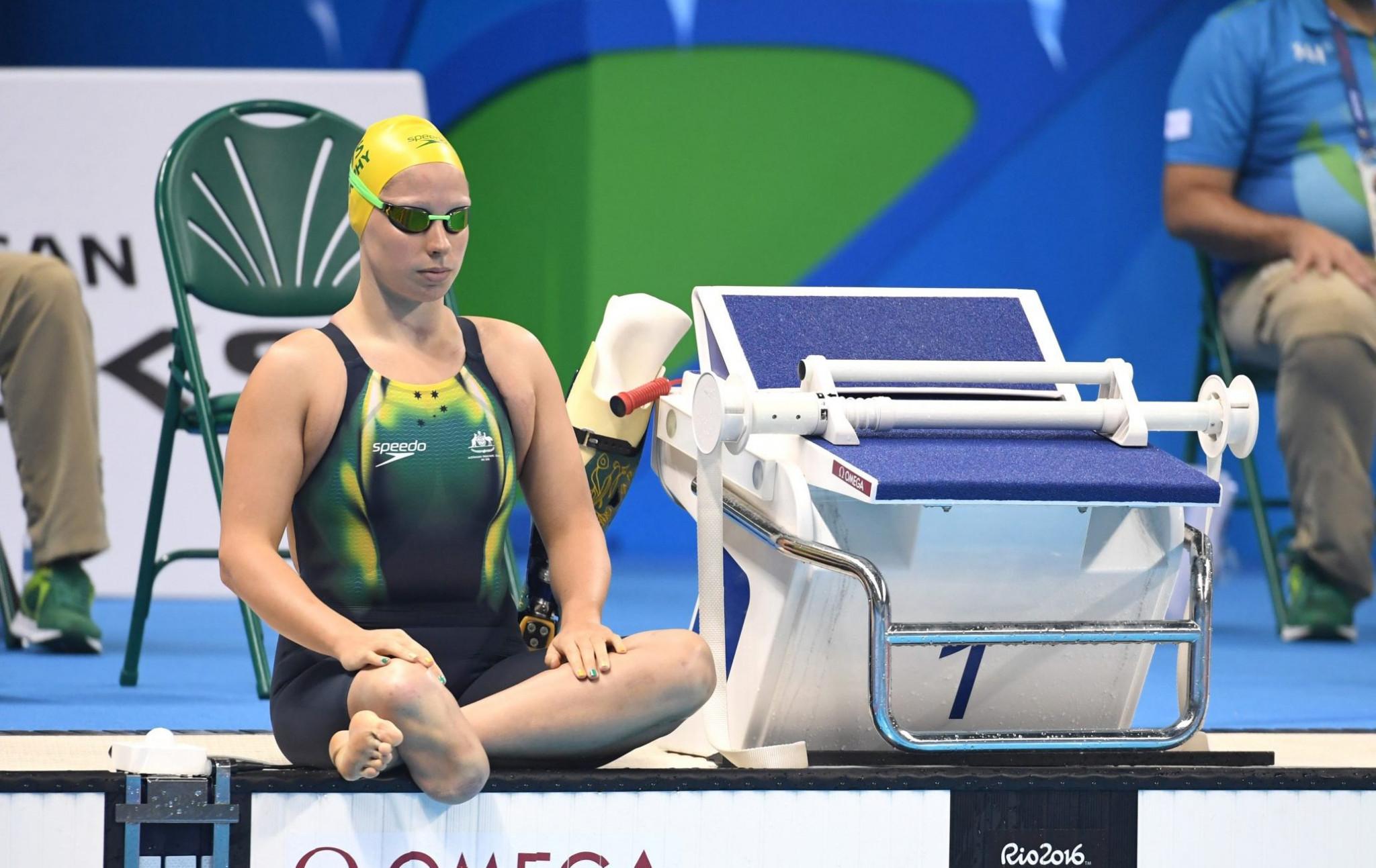 Speedo renew partnership with Australian Paralympic swimmers