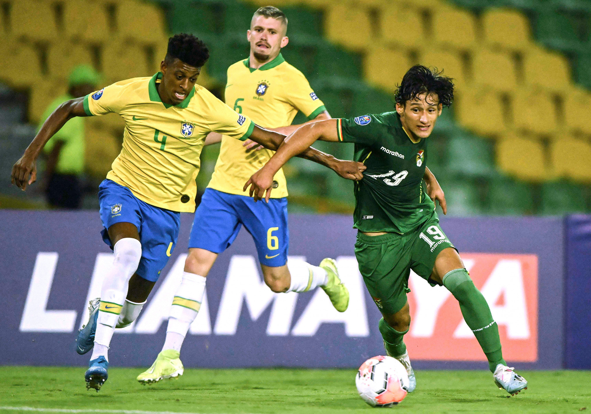 Brazil reach next round of CONMEBOL Pre-Olympic Tournament after eight-goal thriller