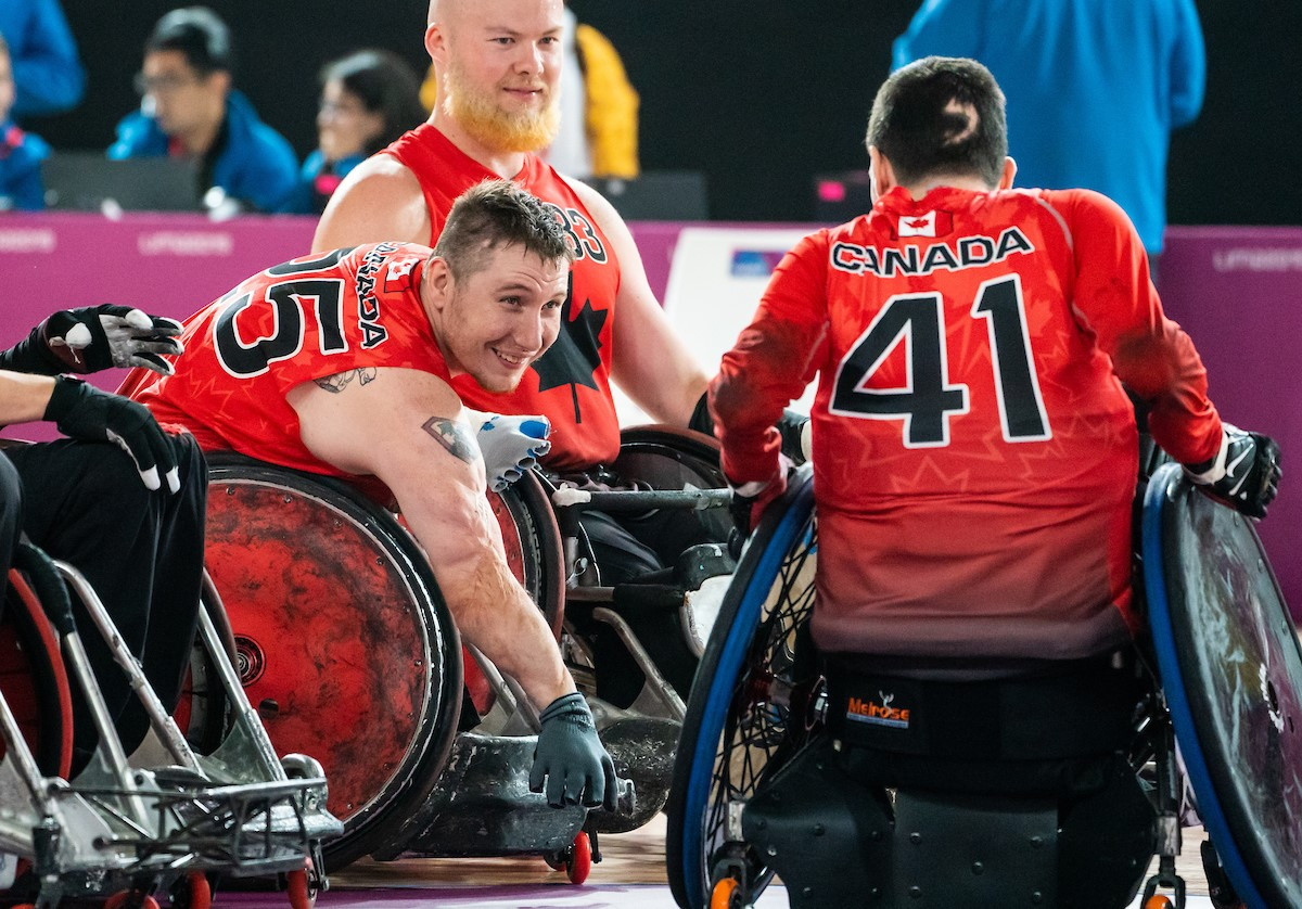 Canada have selected their team for the IWRF Paralympic Qualification Tournament in Richmond ©CPC