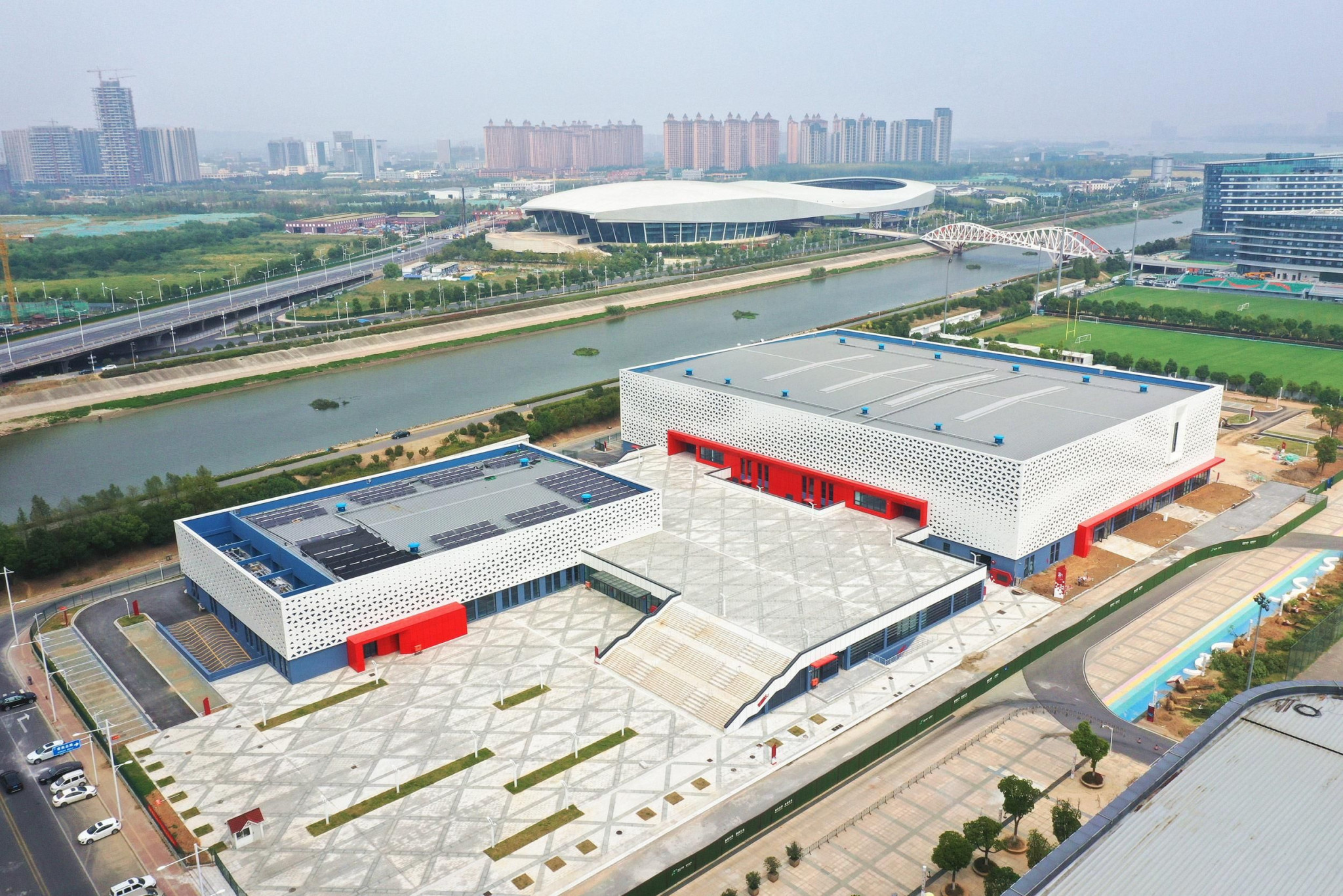 The World Athletics Indoor Championships was due to be staged in the newly-built Cube gymnasium at the Nanjing Youth Olympic Sports Park ©World Athletics