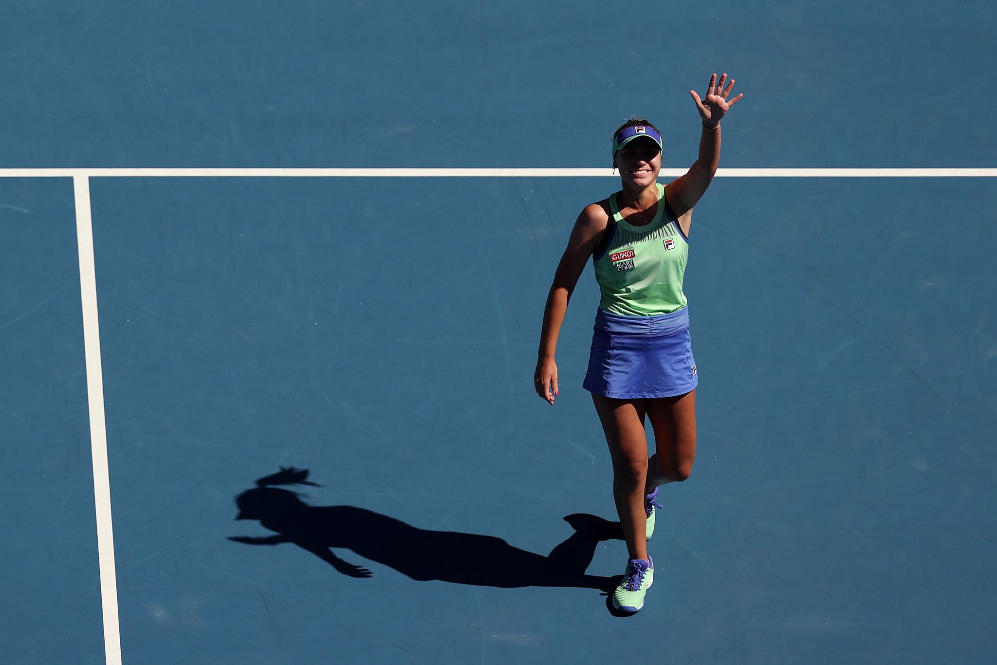 Kenin ends Barty dream at Australian Open as Djokovic sees off Federer