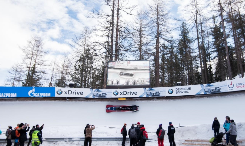 Friedrich on verge of four-man bob title at IBSF World Cup in St Moritz
