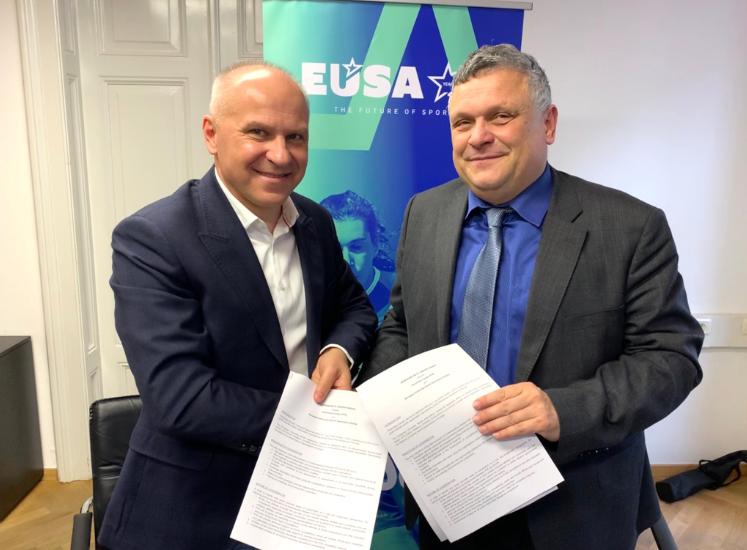 EUSA sign Memorandum of Understanding with ParaVolley Europe