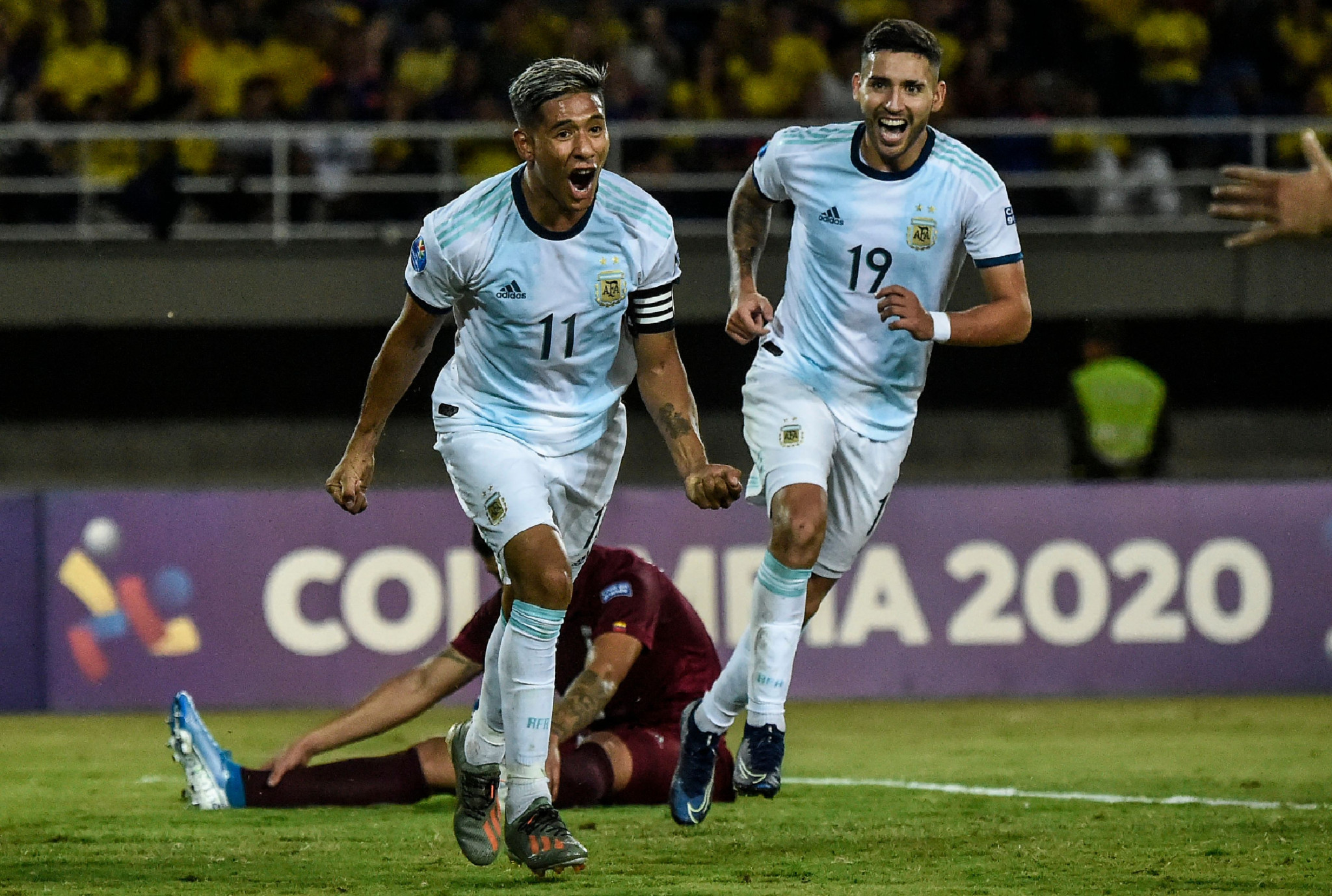Argentina continue to impress at CONMEBOL Pre-Olympic Tournament