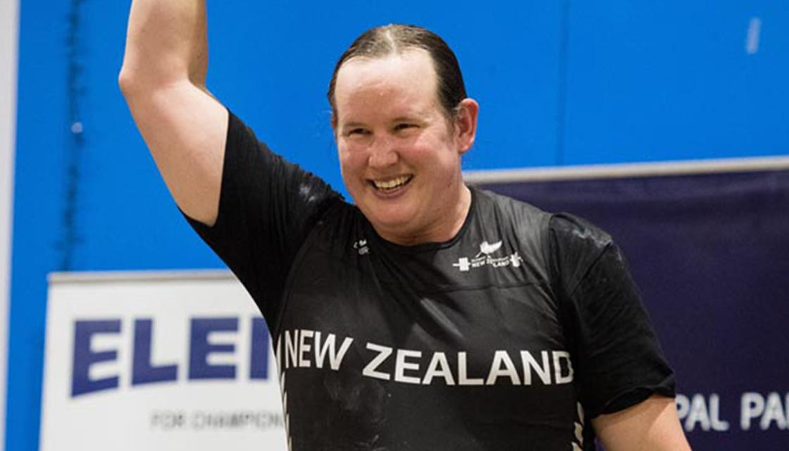 Transgender weightlifter Hubbard keeps Olympic hopes alive at age 41