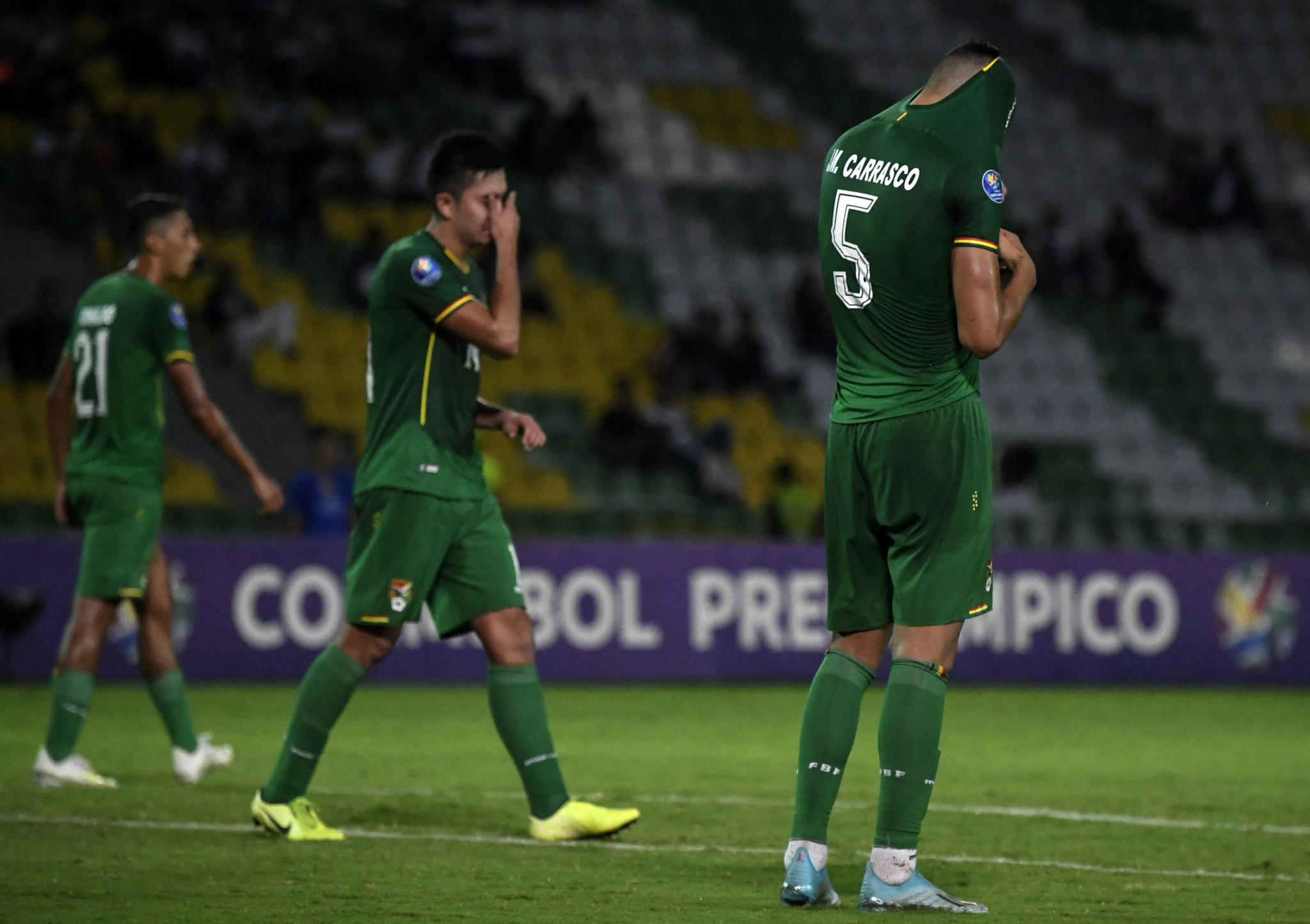 Uruguay stay alive as late goal breaks Bolivian hearts