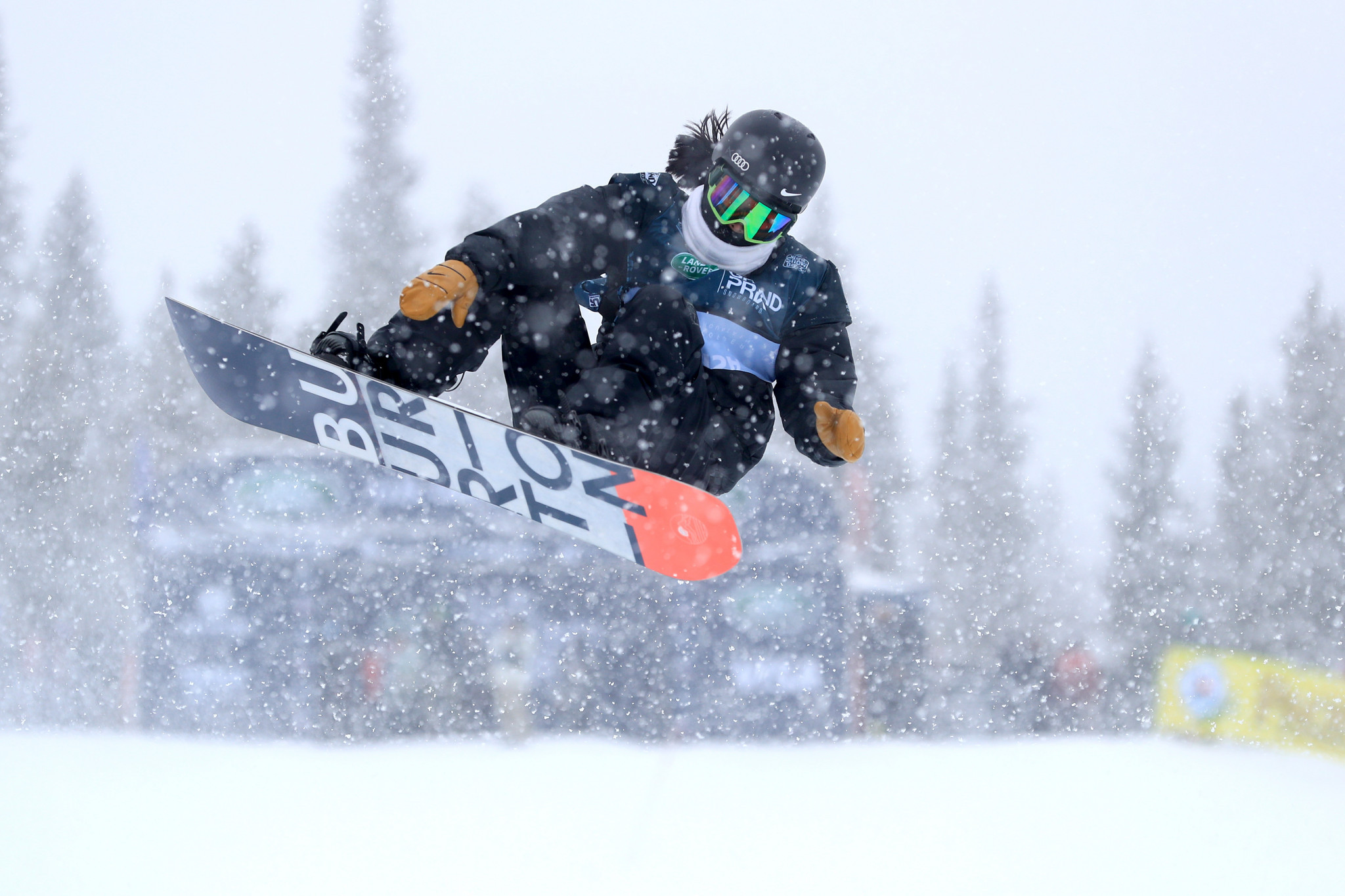 Cai earns last-gasp halfpipe victory at Snowboard World Cup in Mammoth Mountain