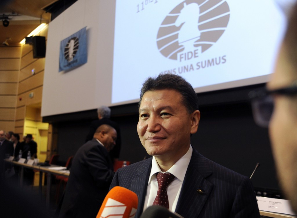 World Chess Federation President temporarily steps down after named on US sanctions list for links to Syria