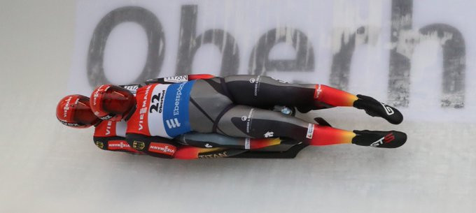 Wendl and Arlt cut gap to overall leaders with doubles win at FIL Luge World Cup