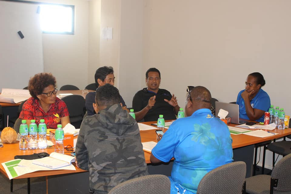 The National Olympic Committee of the Solomon Islands Executive Board held a one-day planning session ©NOCSI